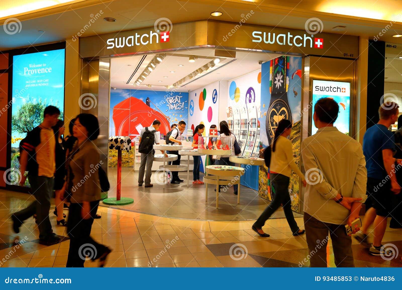 Singapur: Swatch