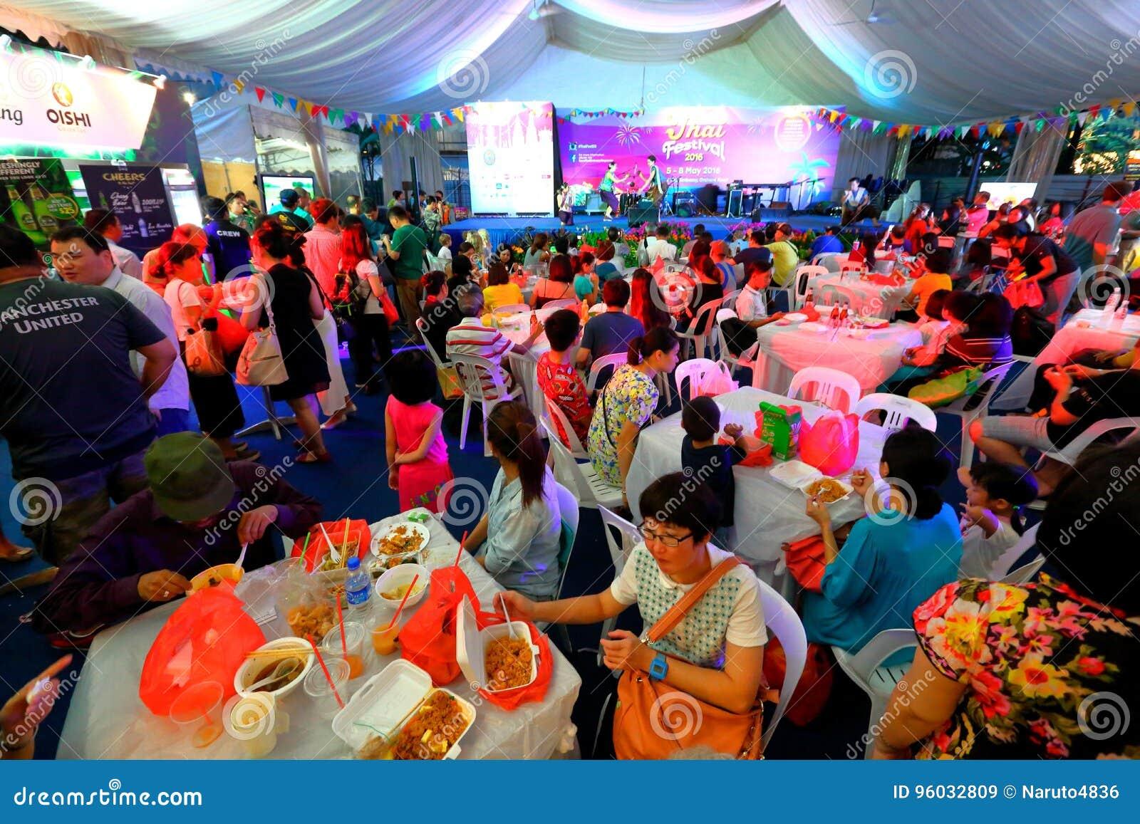 Singapur: Tajlandzki festiwal