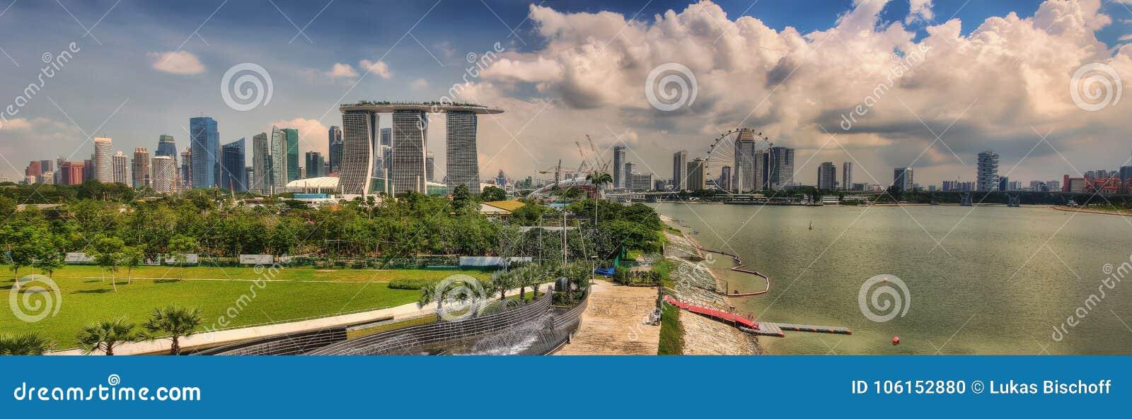 Singapura Marina Barrage