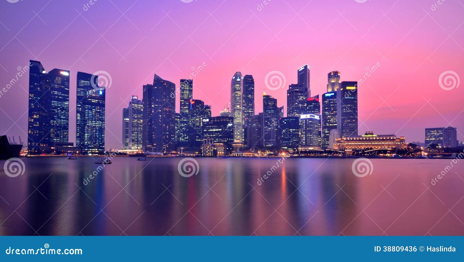 Singapura Marina Bay Panorama