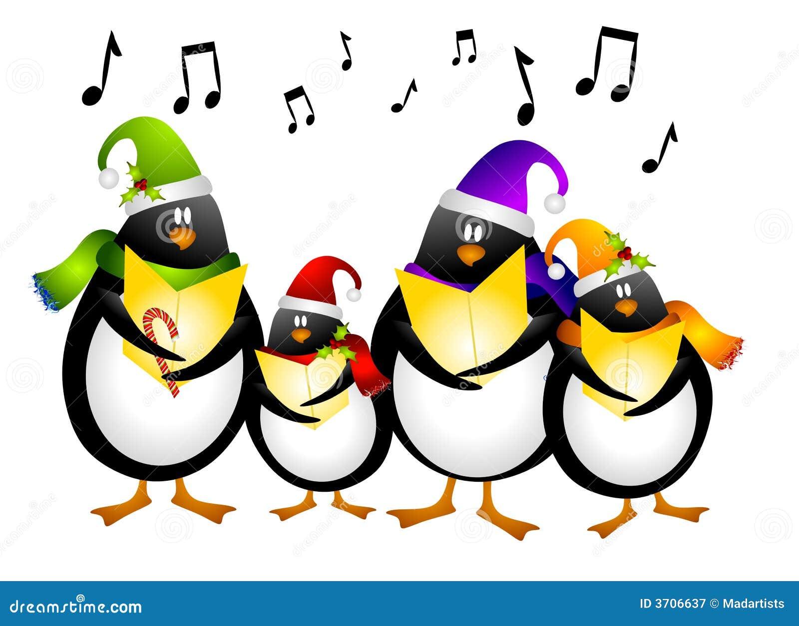 SingenPinguin-WeihnachtsCarolers