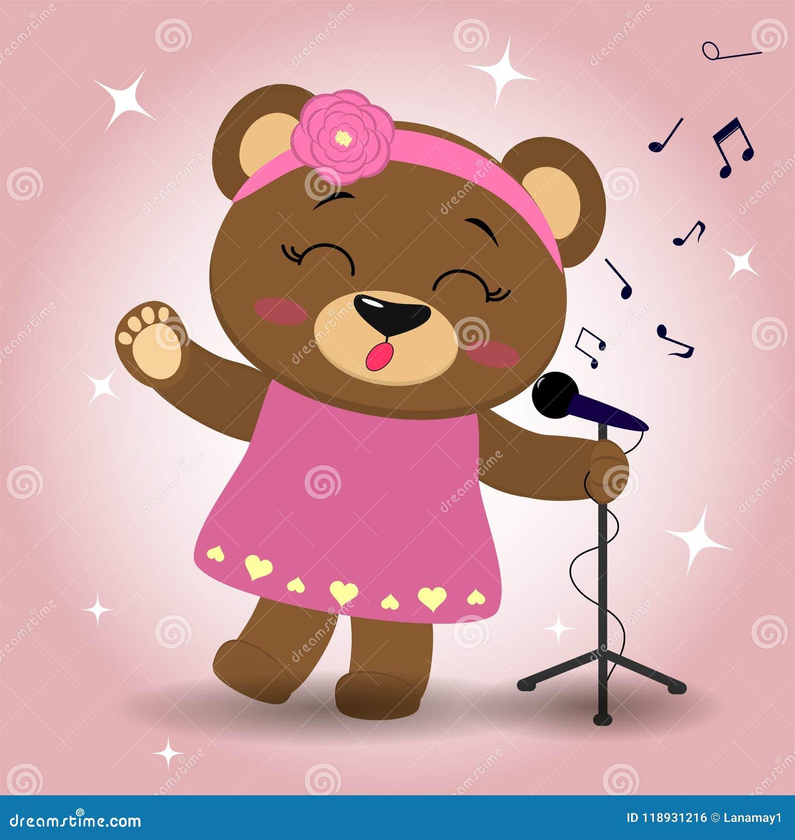 163a8ee01 Bear Microphone Stock Illustrations – 178 Bear Microphone Stock  Illustrations, Vectors & Clipart - Dreamstime