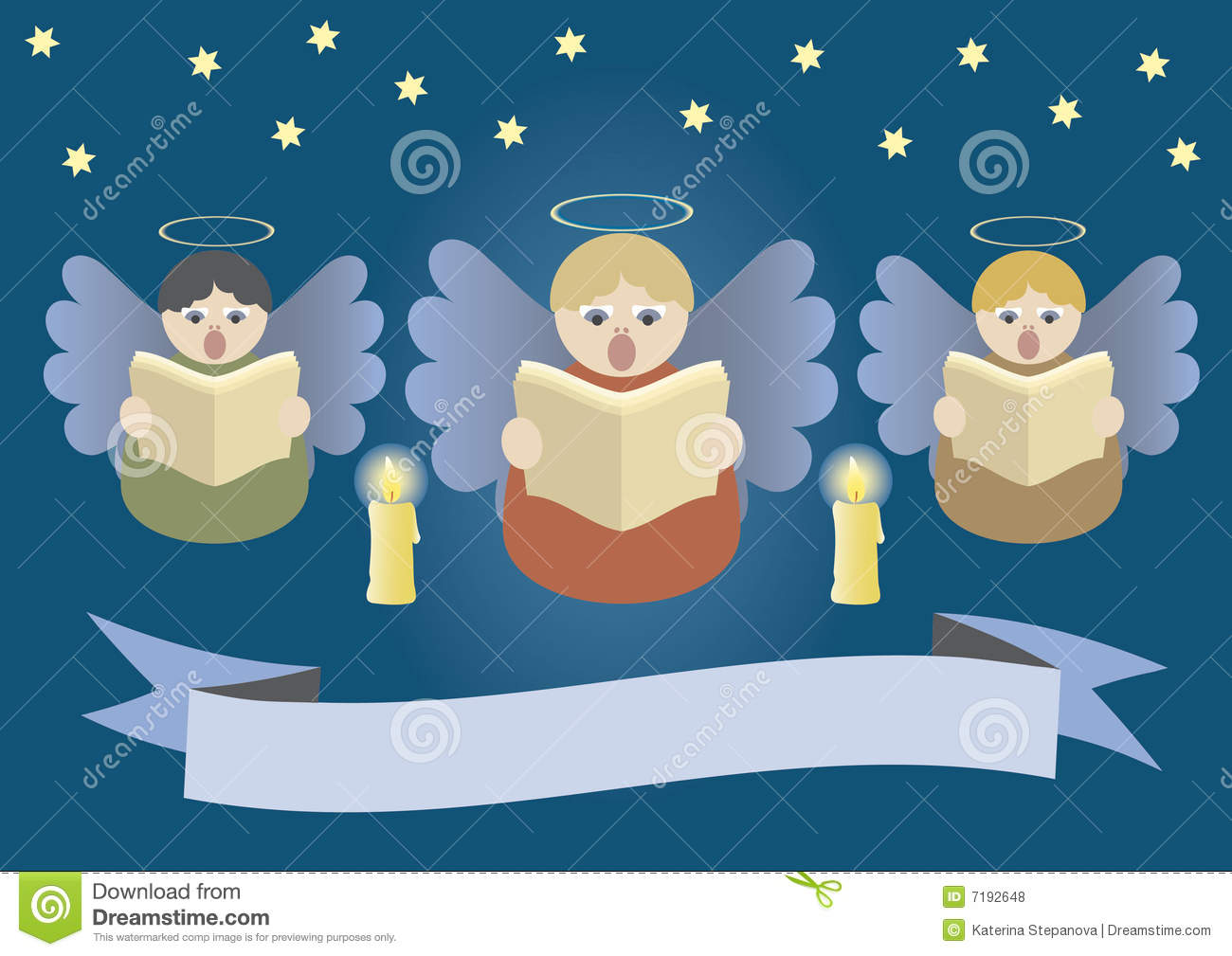 Singing Angels Royalty Free Stock Photos Image 7192648