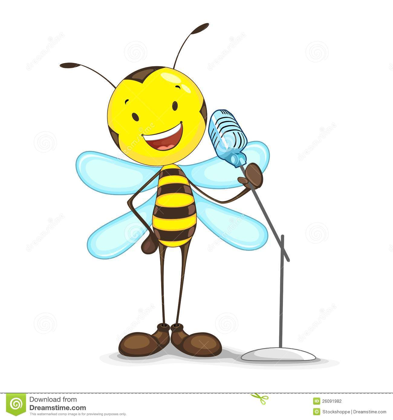 Singing Bee Stock Photography Image 26091982