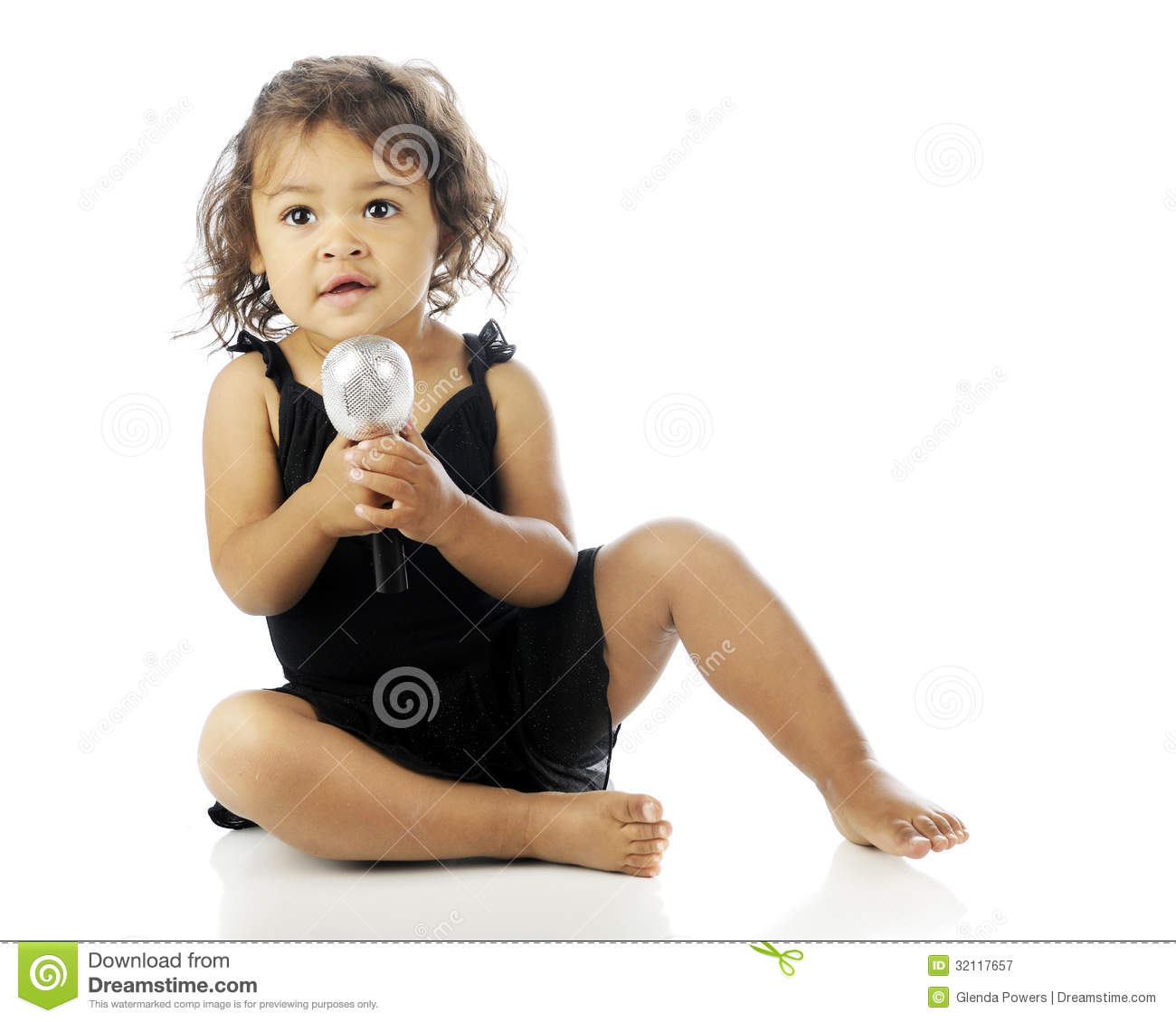 Singing from the floor royalty free stock photography for Dance where you sit on the floor