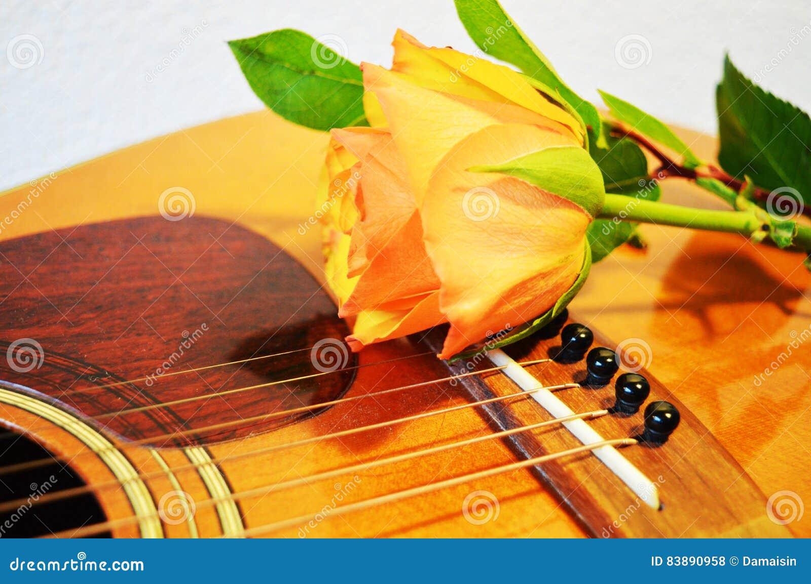Singing For Love Symbols Stock Photo Image Of Yellow 83890958