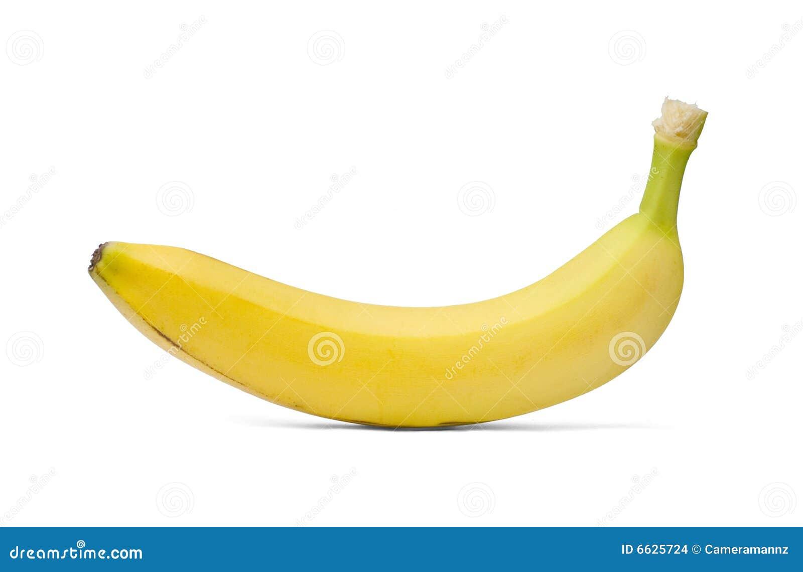 Single Banana Stock Images - Image: 6625724