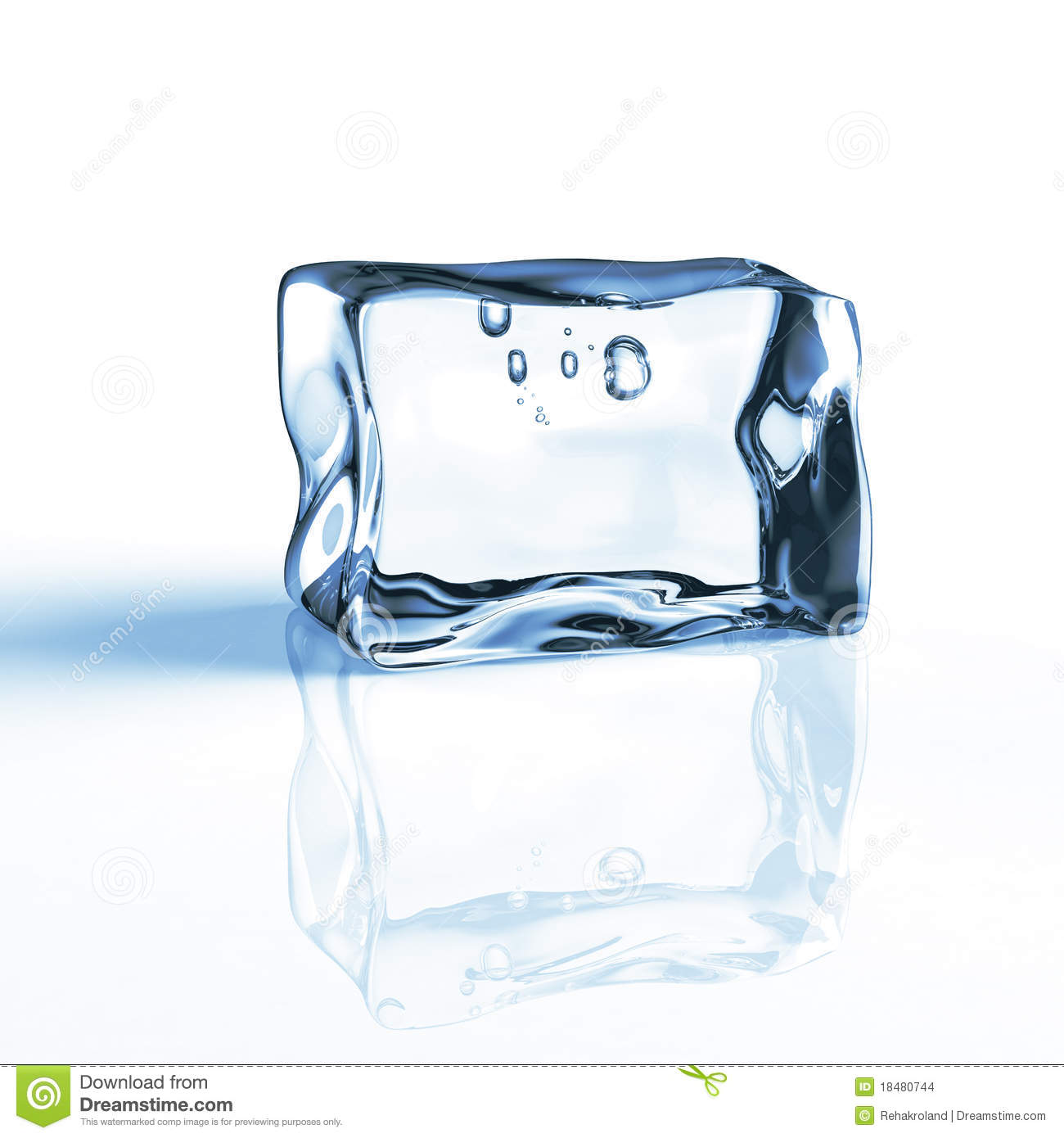 lowest discount latest finest selection Single blue ice cube stock illustration. Illustration of ...