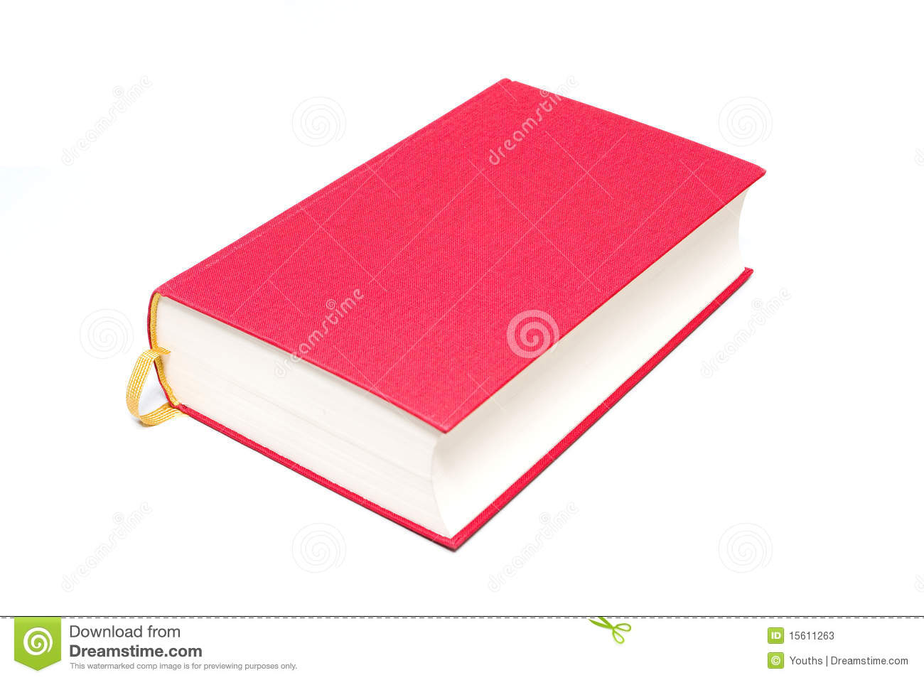 Single Book Stock Image  Image Of Clipart  Cardboard
