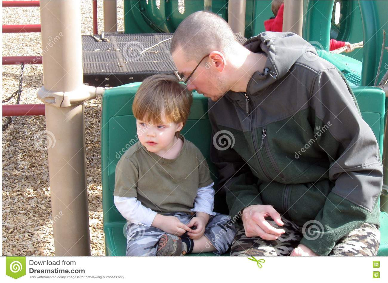 Single Father and Son