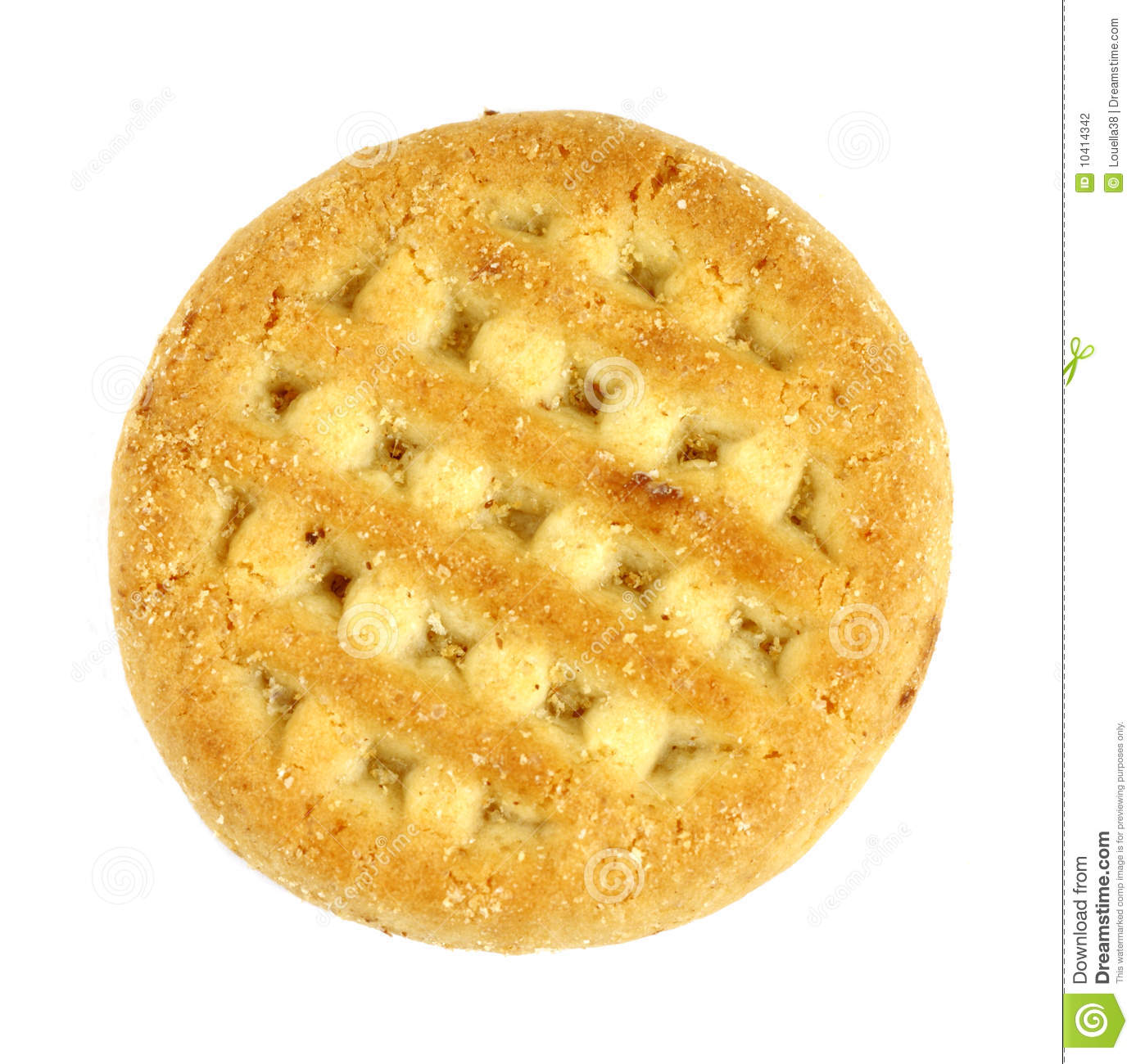 Single filled cookie stock photo. Image of round, baked ...
