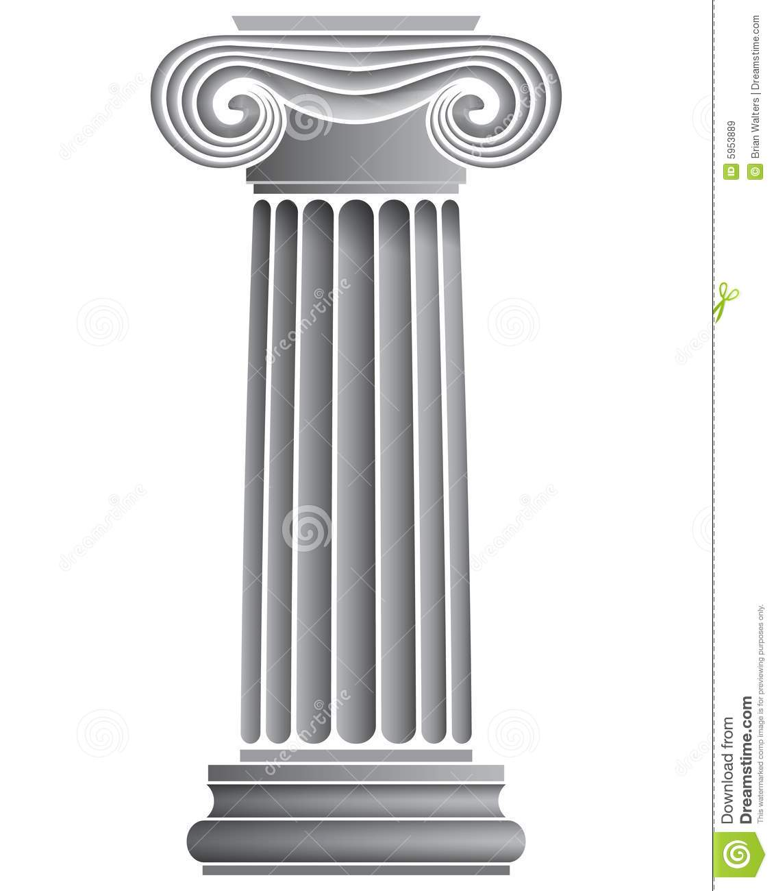 ionic columns and dentil - photo #40