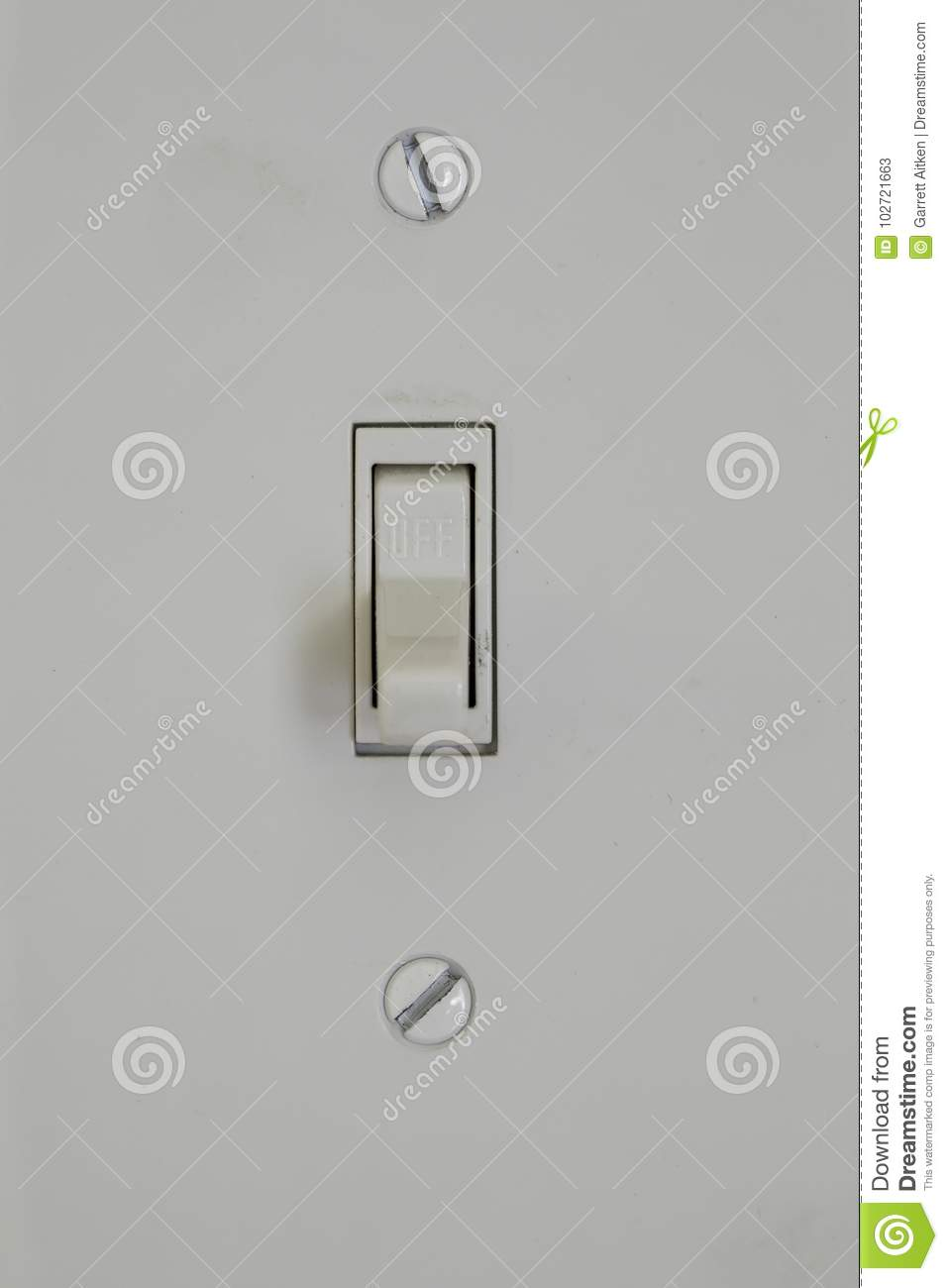 Light Switch stock image. Image of power, objects, copy - 102721663