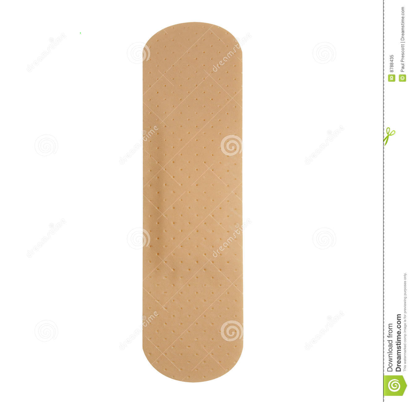 Single plaster band aid