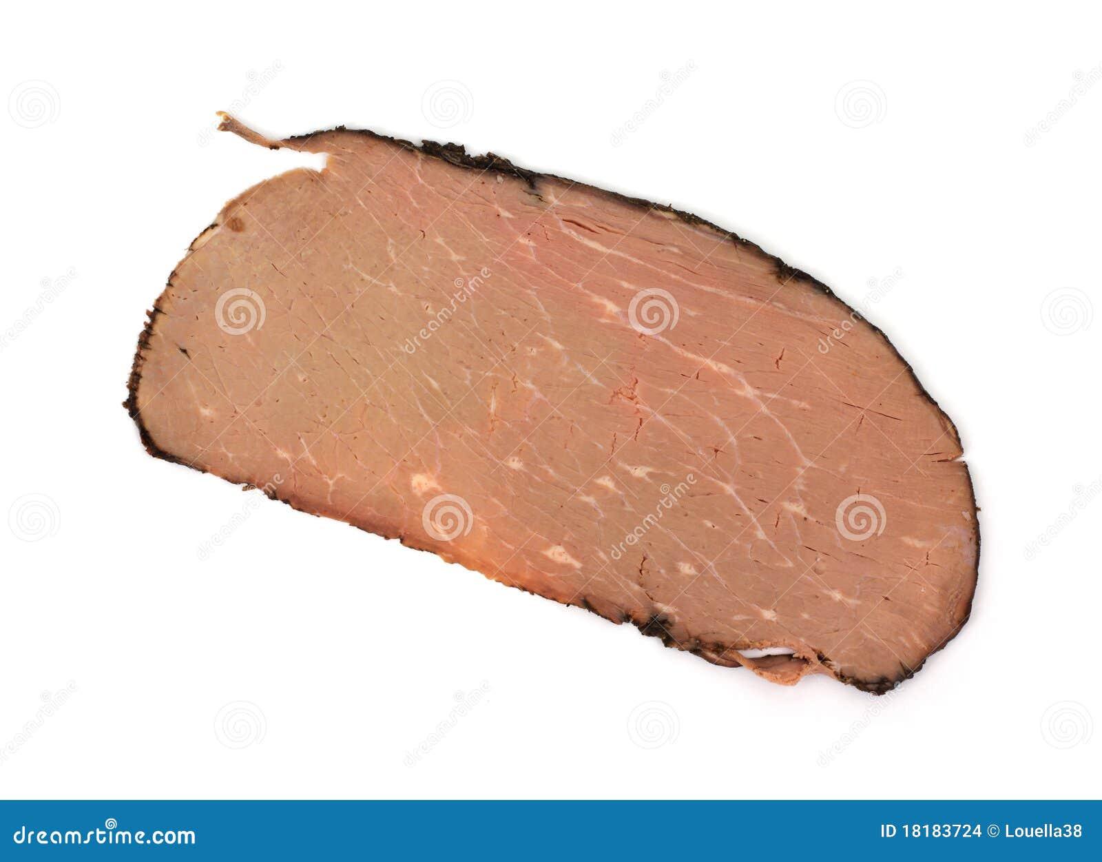 Sliced roast beef package - Single Slice Roast Beef