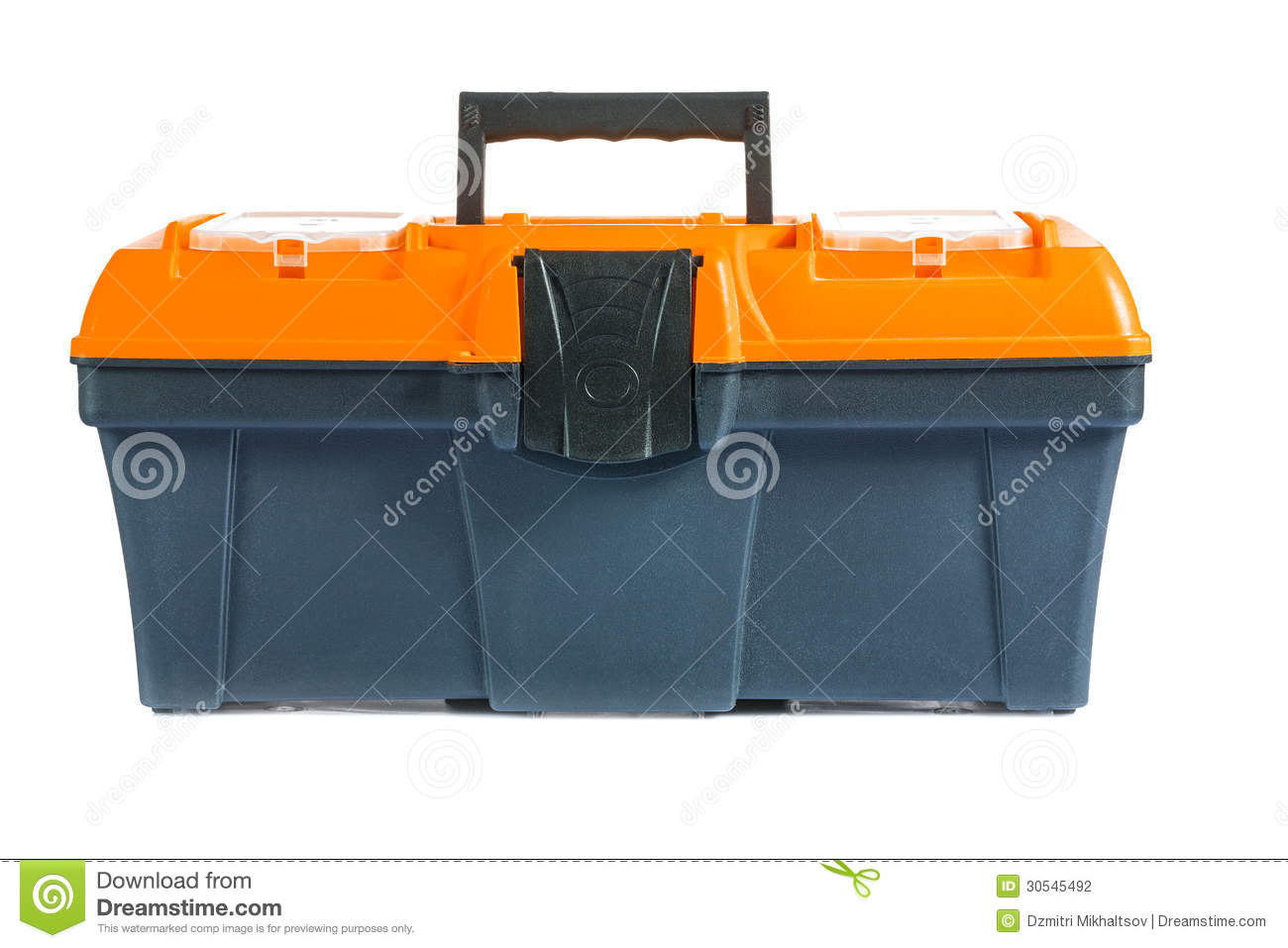 Empty Toolbox Clipart Single Toolbox Isolatt...