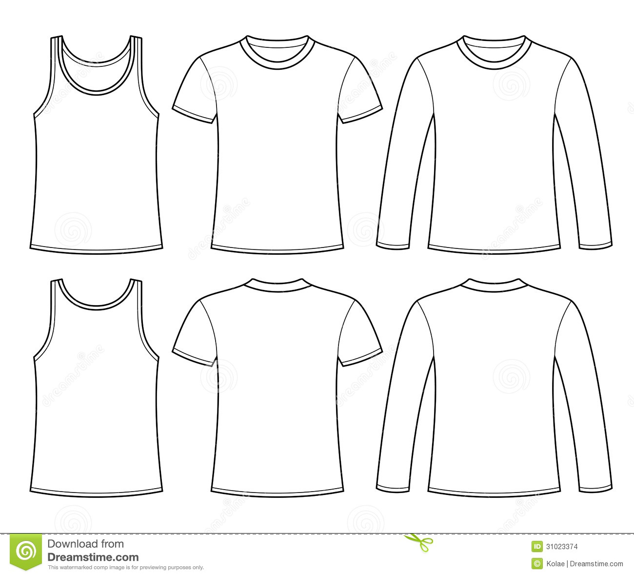 Shirt Templates For Kids To Design Their Own Clothes  Design