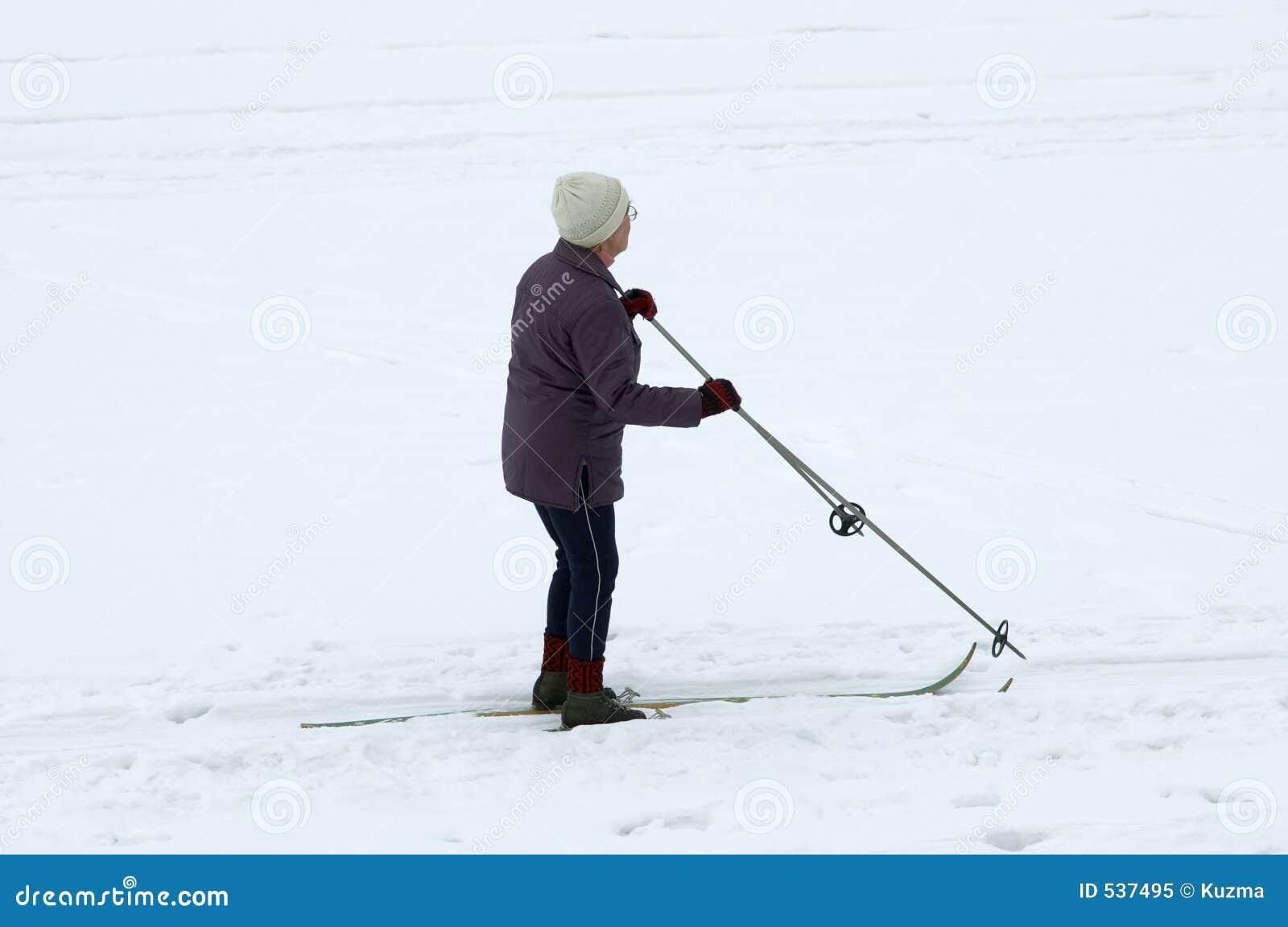 Download Sinior滑雪者 库存图片. 图片 包括有 滑雪者, 空白, 不变, 路线, 健康, 滑翔, 漫步, 样式 - 537495