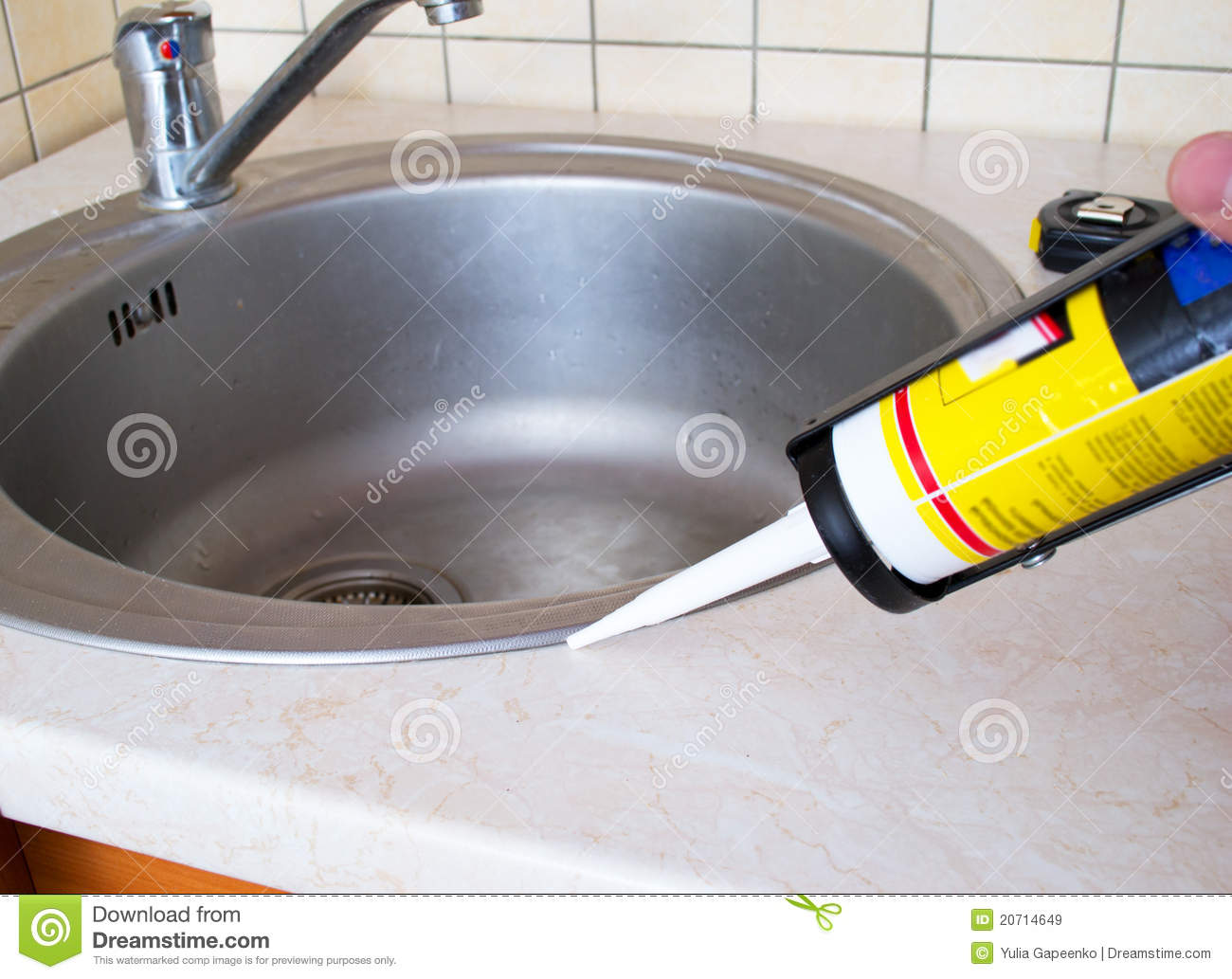 Sealant Silicone Sink