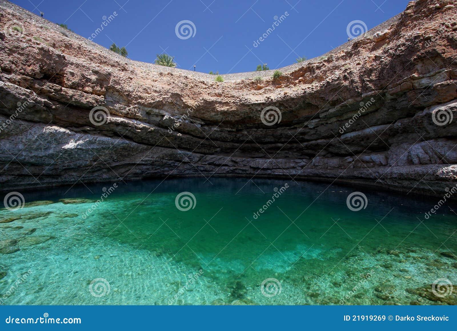 Sinkhole em Oman