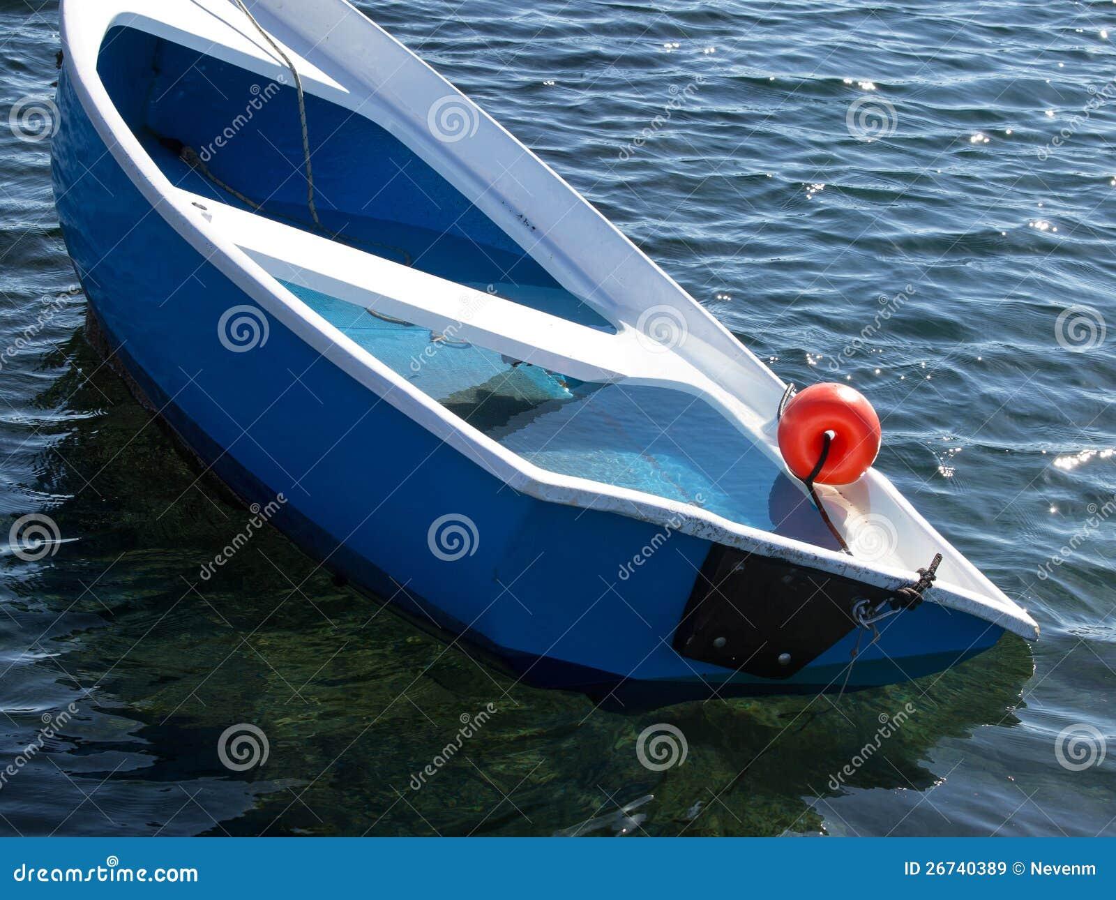 Sinking Boat Royalty Free Stock Images - Image: 26740389