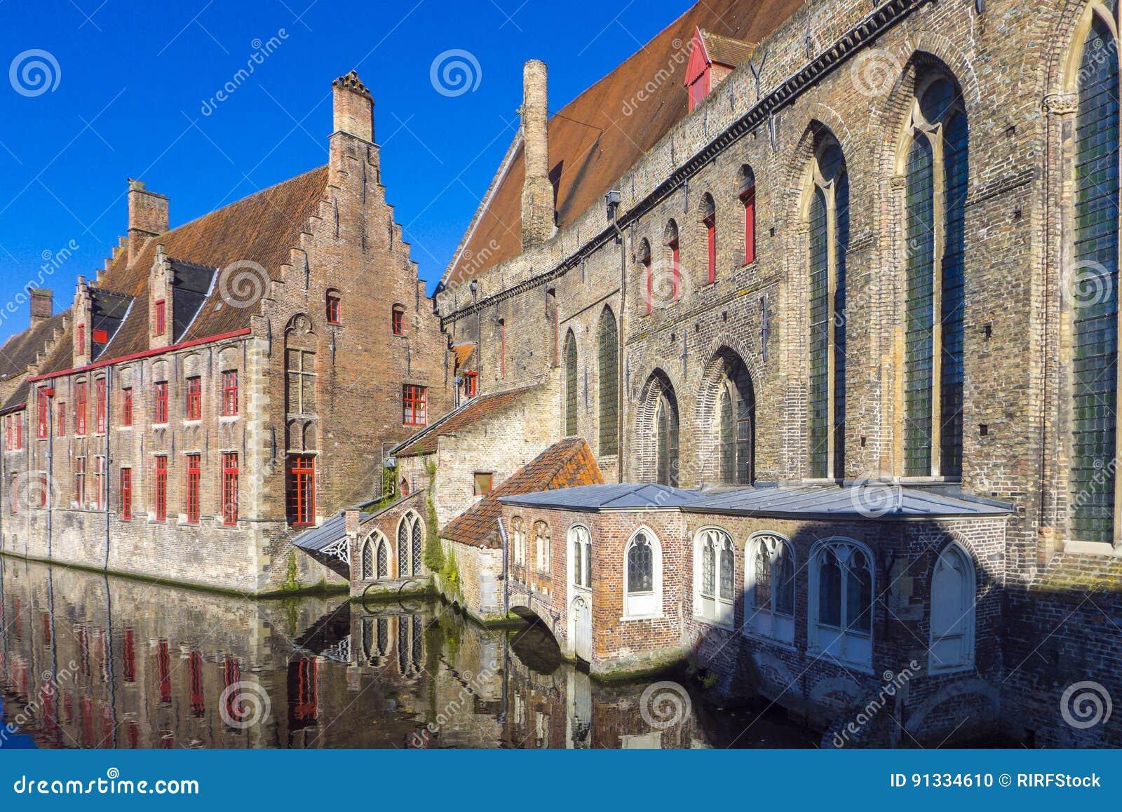 Sint-Janshospita St John ` s Szpitalny Bruges Belgia