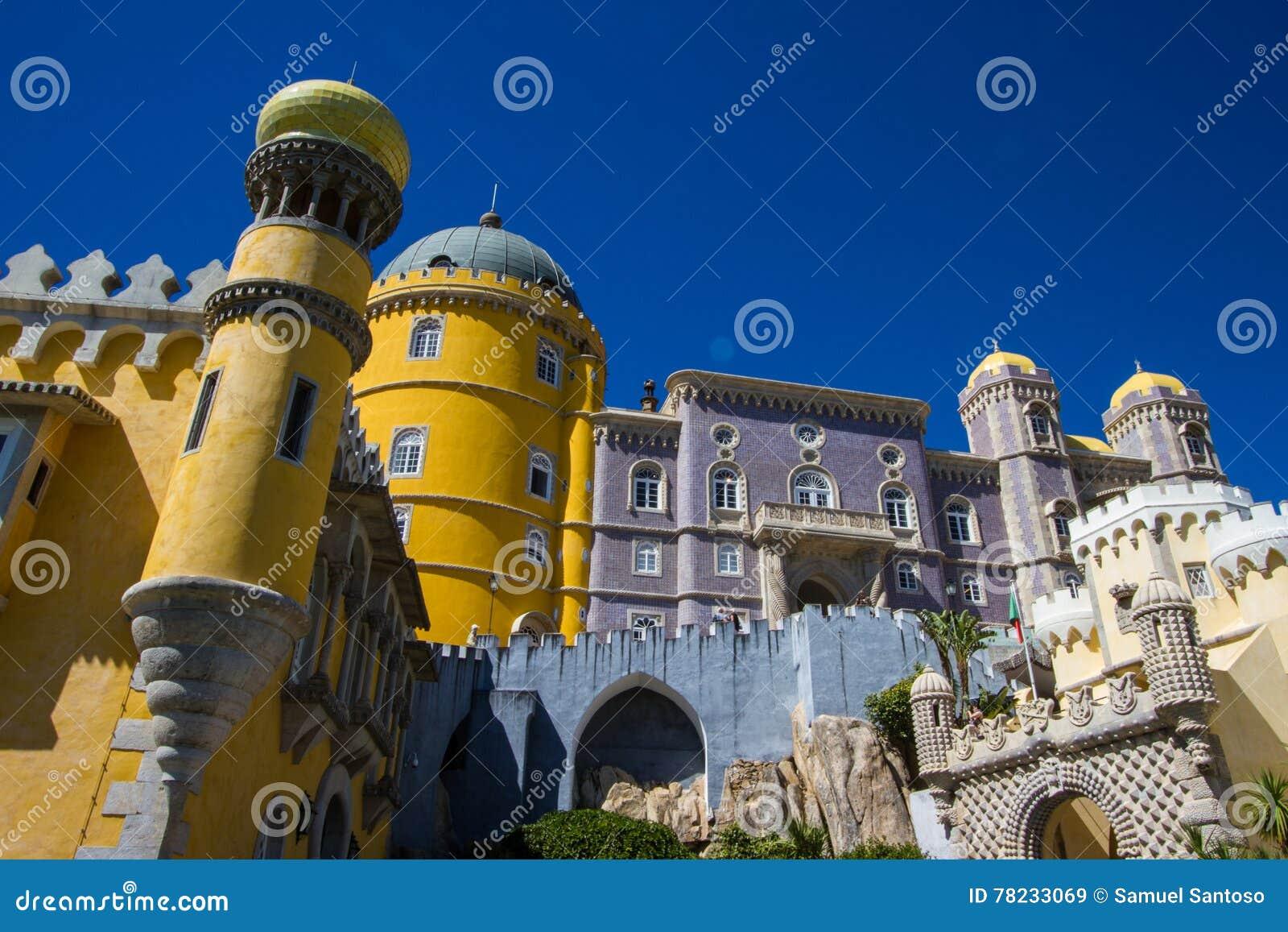 Sintra дворца Pena