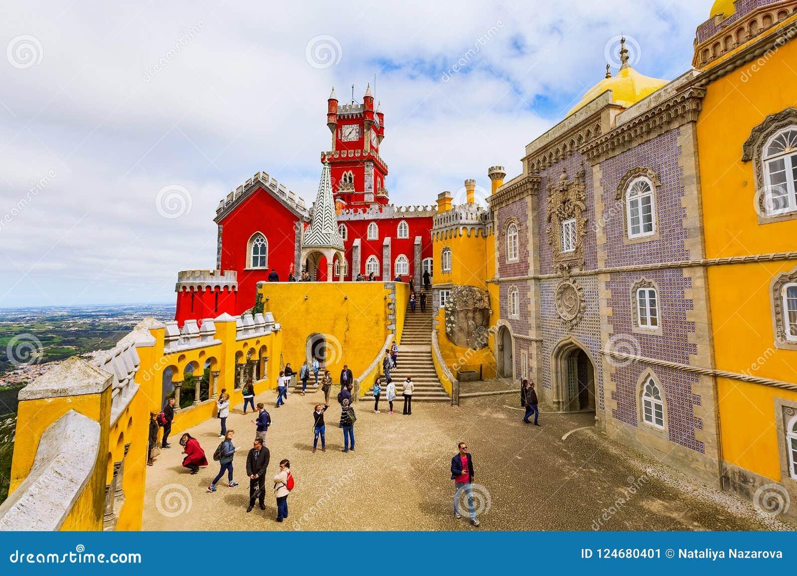 Sintra, Portugalia punkt zwrotny, Pena pałac