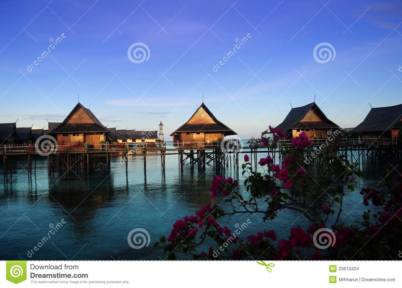 Sipadan kapalai dive resort stock images image 23610424 - Kapalai dive resort price ...