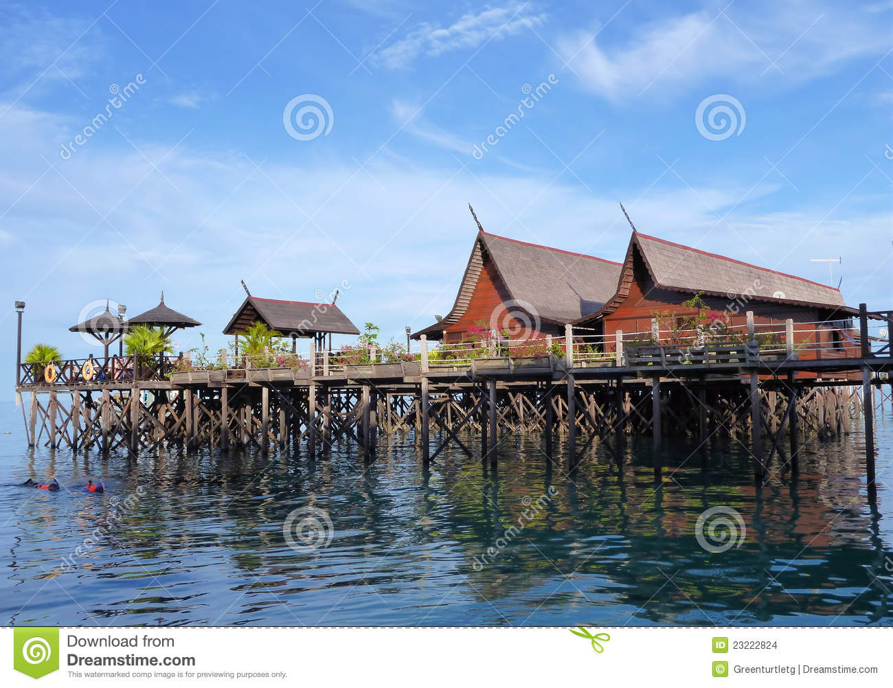 Sipadan kapalai dive resorts stock images image 23222824 - Kapalai dive resort price ...