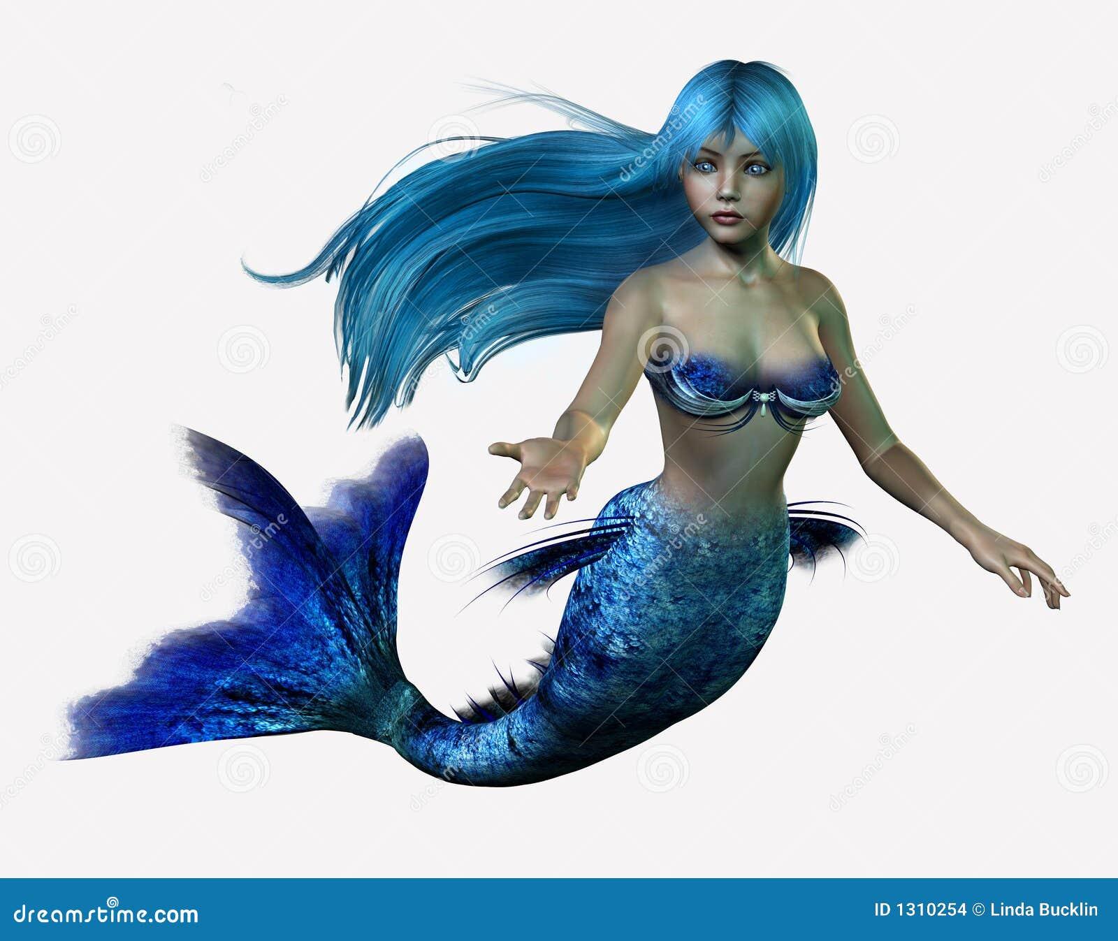Sirène bleue