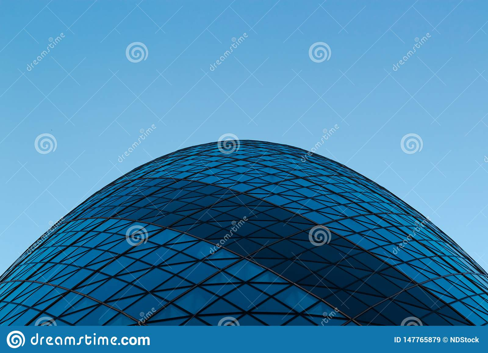Sir Norman Foster Building The Gherkin Photo de dessous