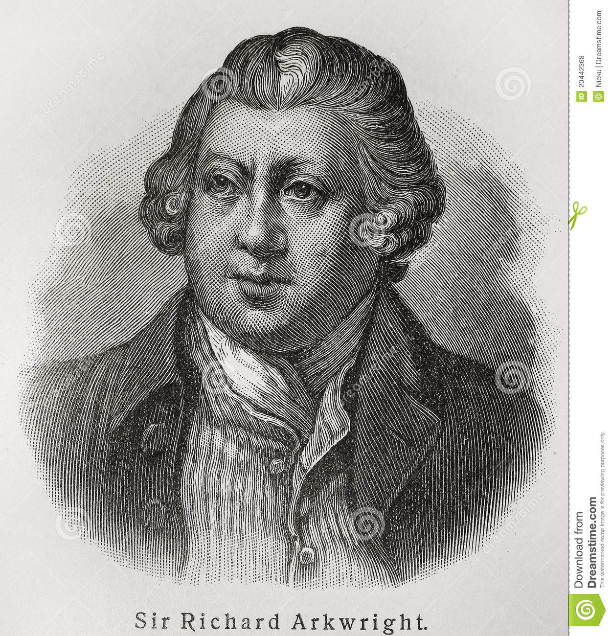 An introduction to the life of richard arkwright