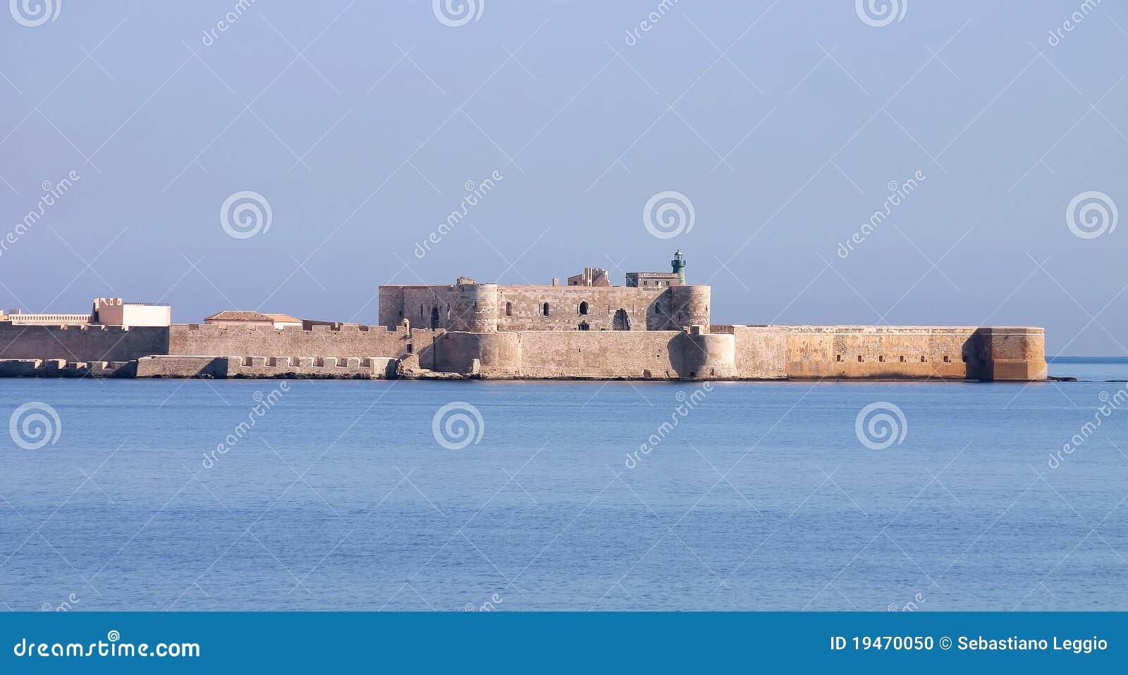 Siracusa Сицилии maniace замока