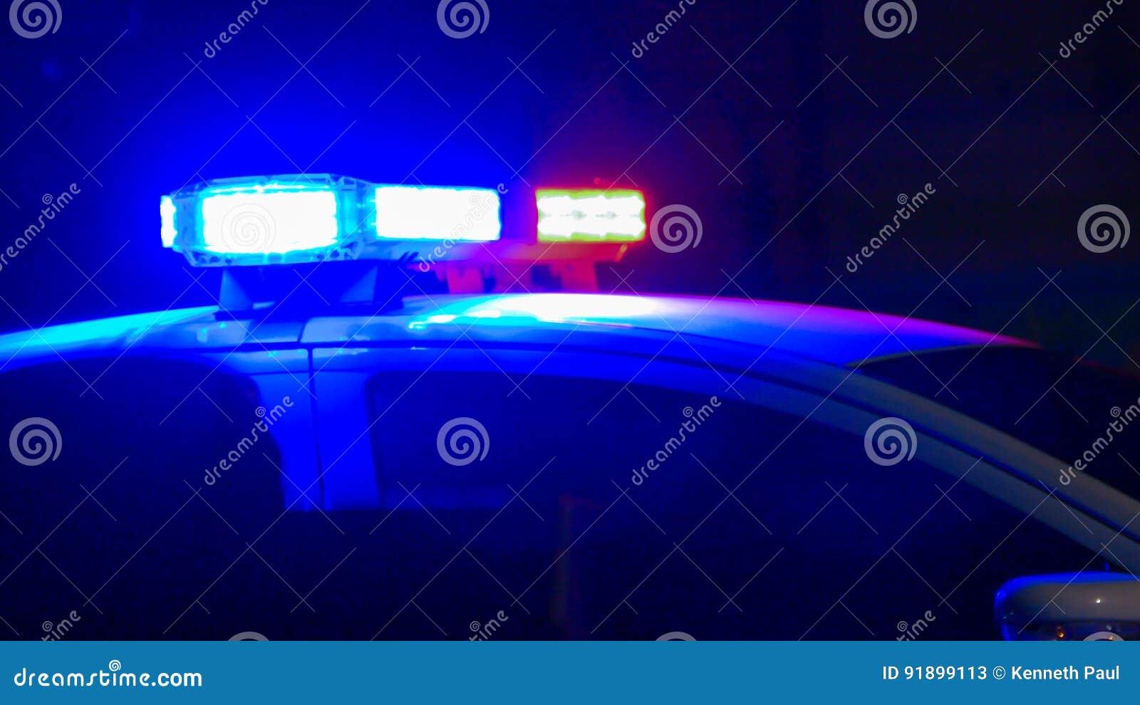 Sirena del coche policía