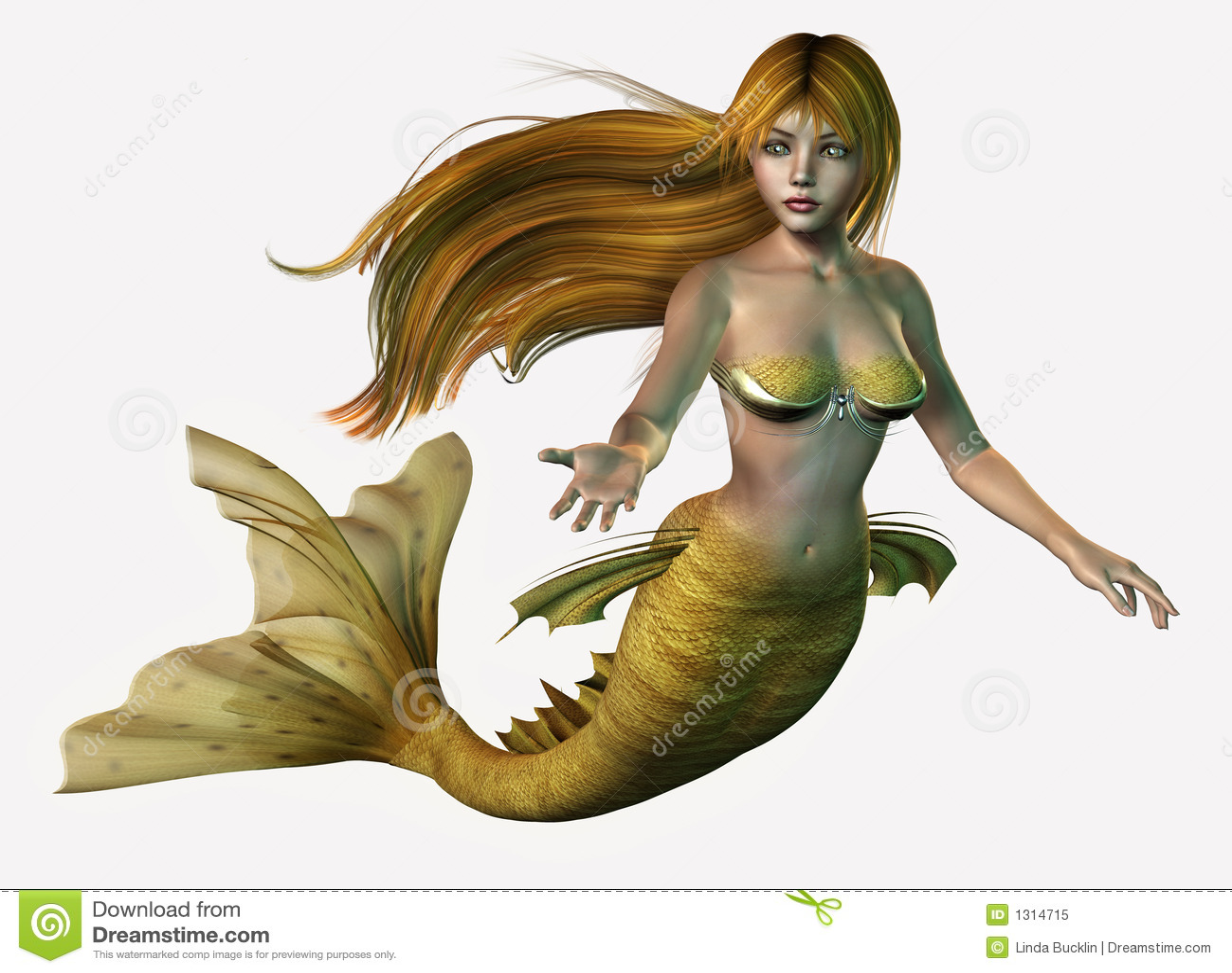 Sirena del oro