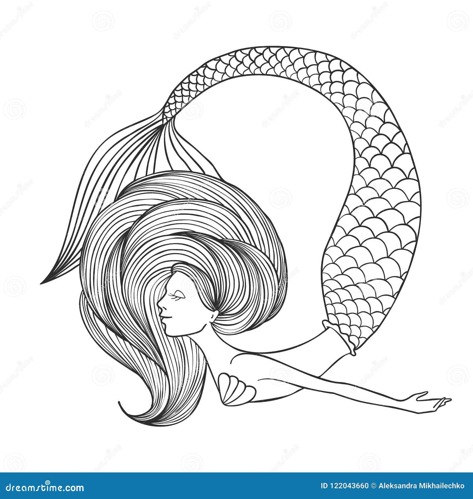 Unicorno Sirena Da Colorare Coloring And Drawing