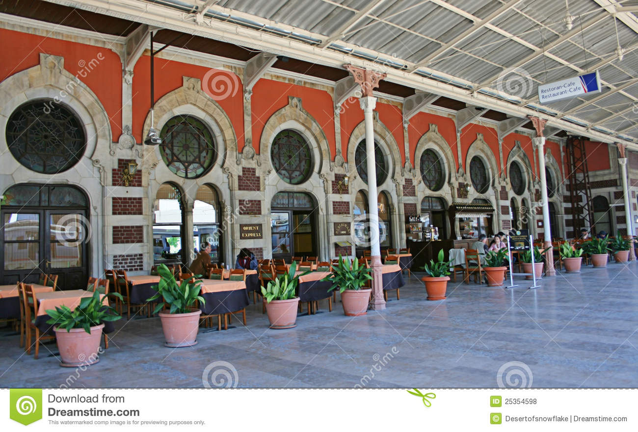 orient train station The old sirkeci train station, built in 1890 by the oriental railway, was once the  eastern terminal of the famous orient express even though the.