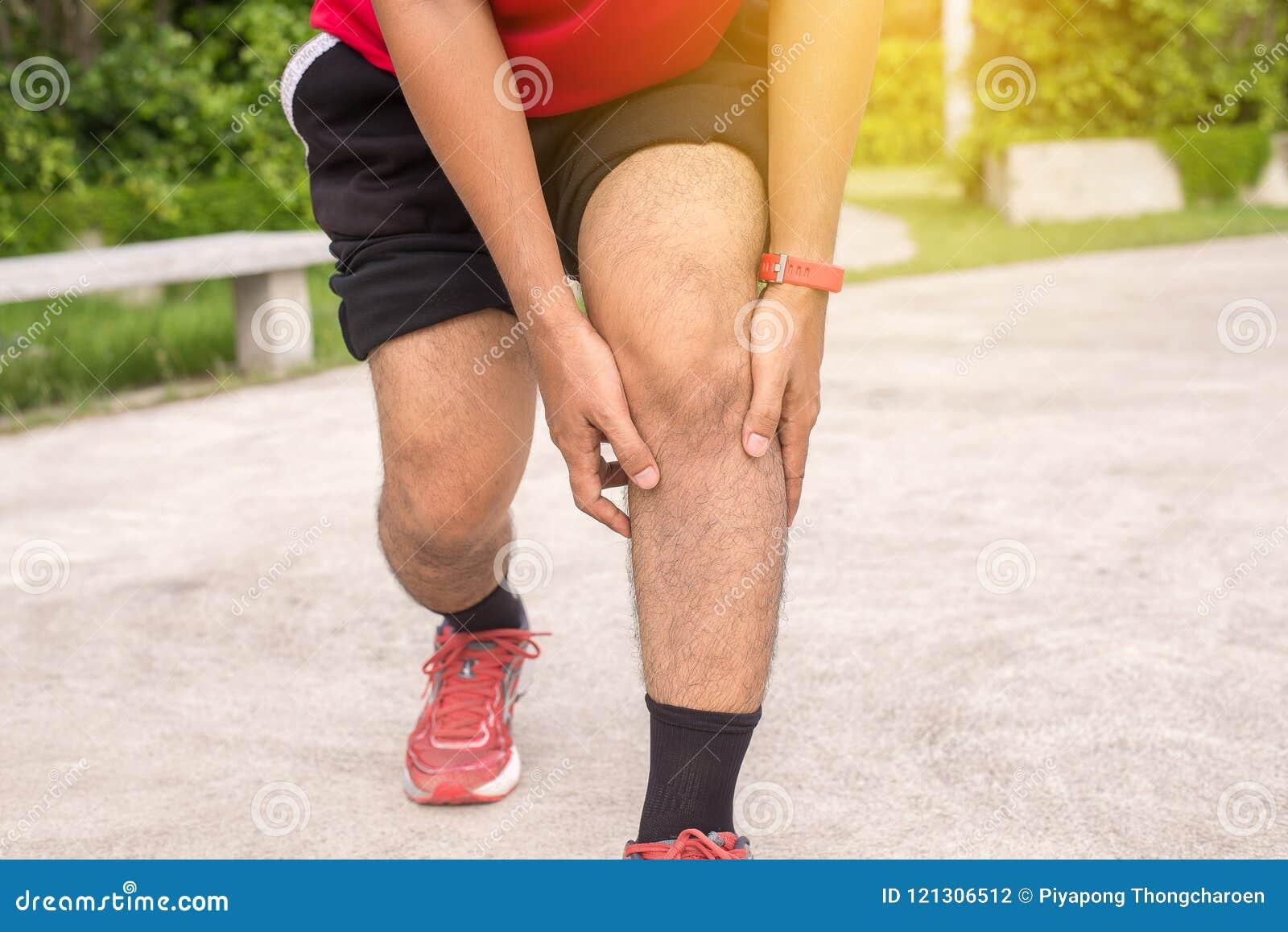 Las piernas entrenamiento dolor del en después