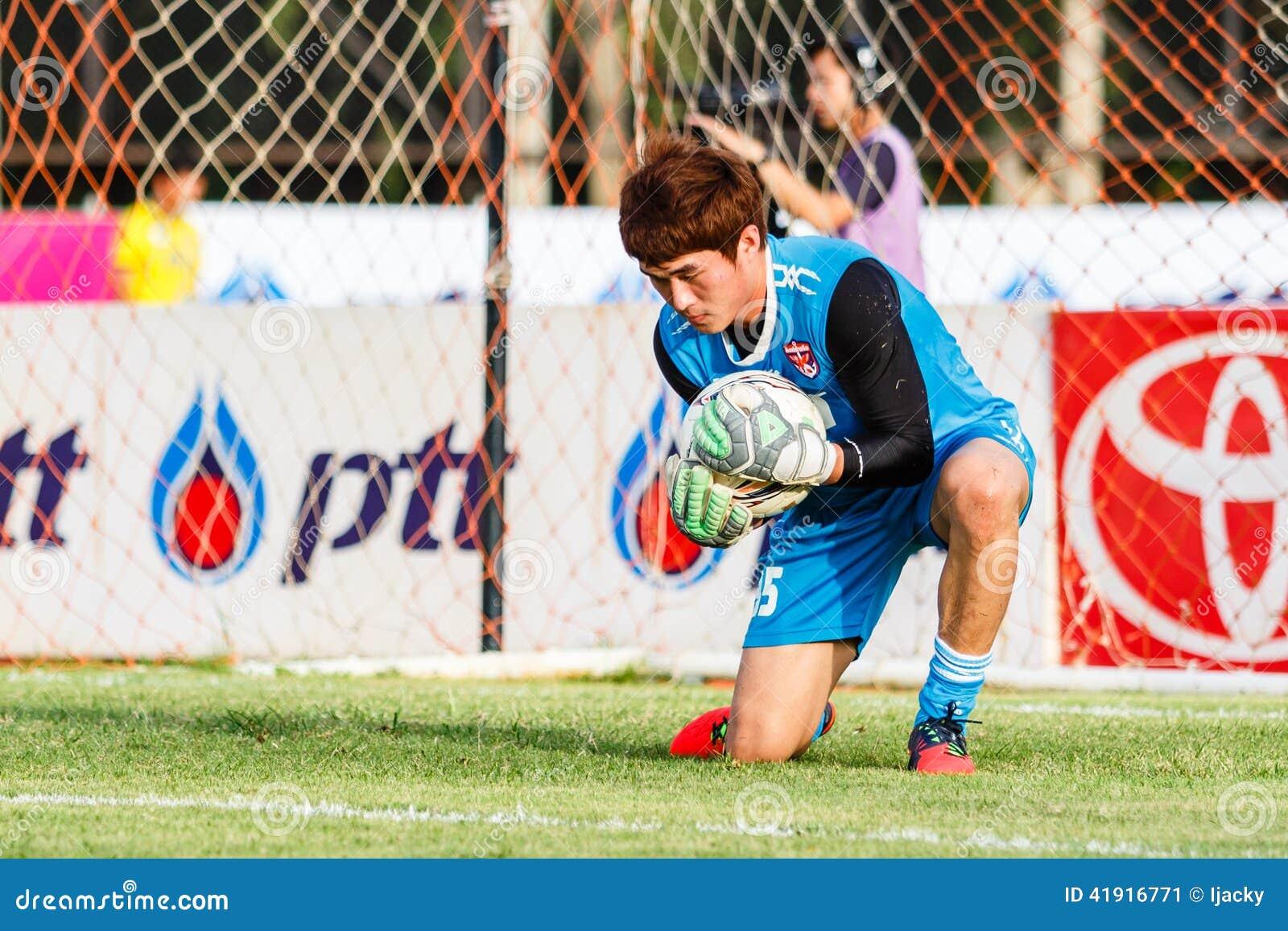 SISAKET TAILANDIA 21 DE JUNIO: Chanin Sae-Eae de Singhtarua FC