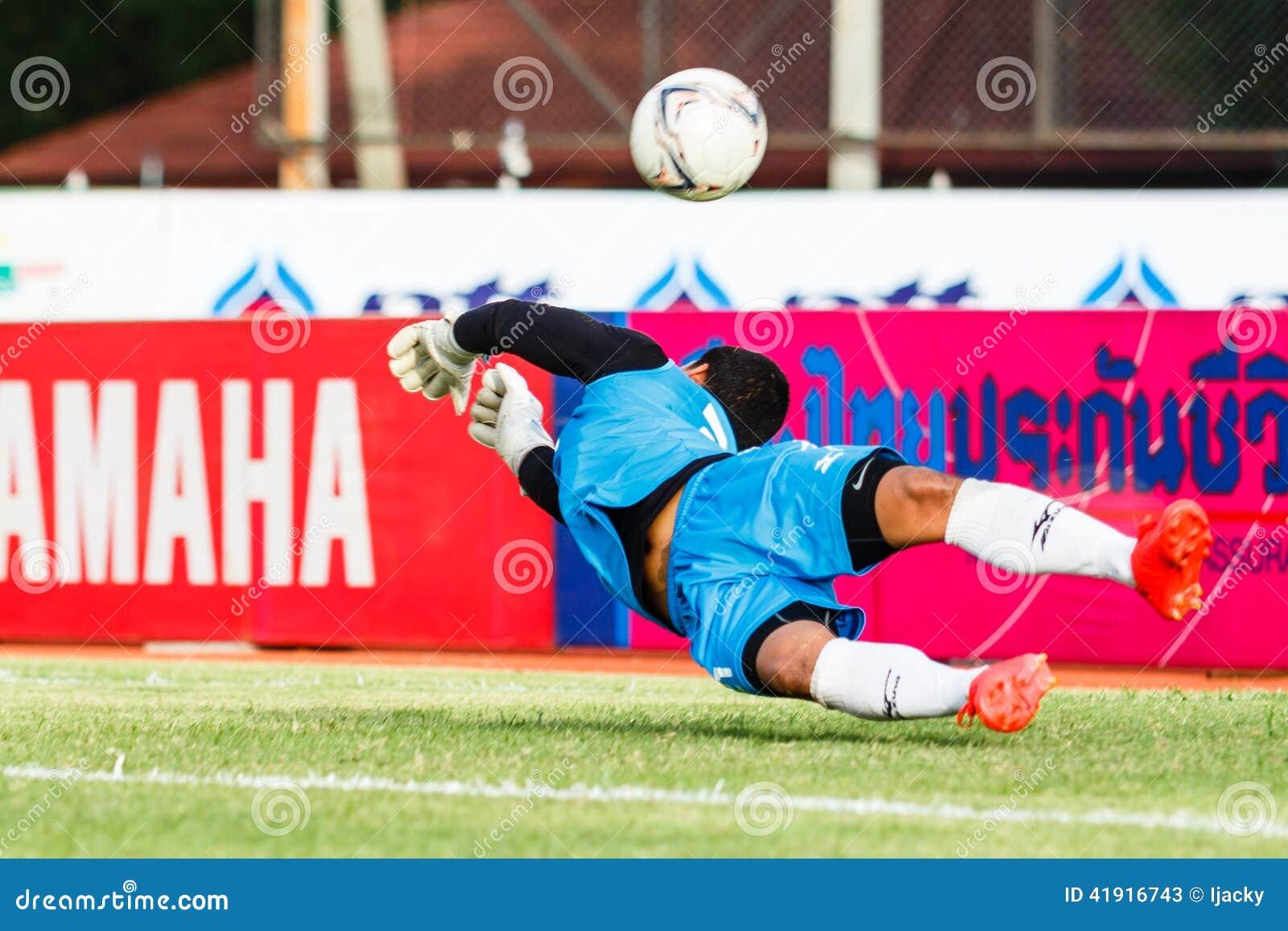 SISAKET TAILANDIA 21 DE JUNIO: Nattapol Krobyoo de Singhtarua FC