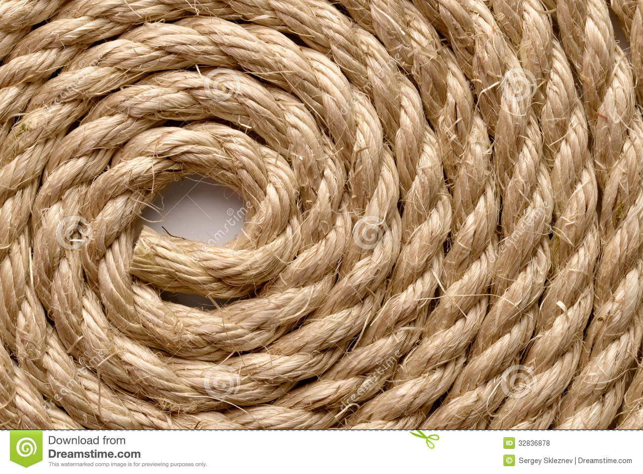 Sisal Rope Royalty Free Stock Photos Image 32836878