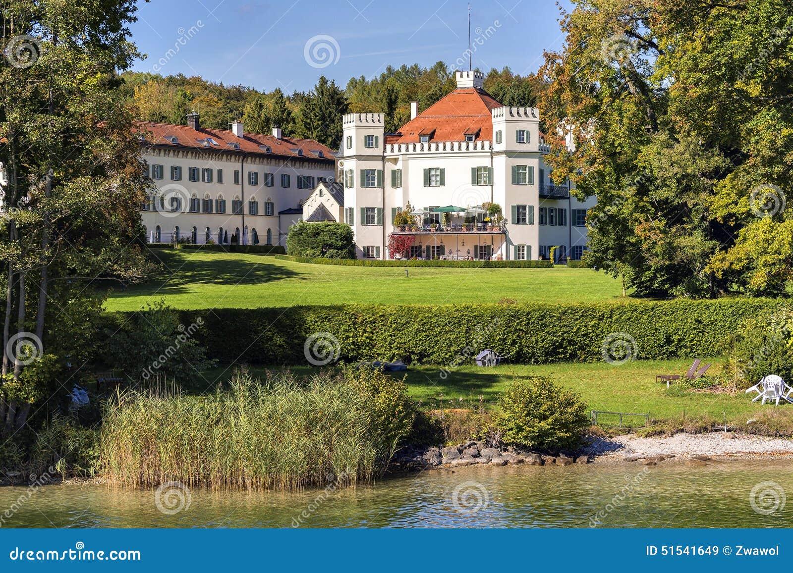 Sisi Castle Possenhofen Stock Image Image Of Landscape