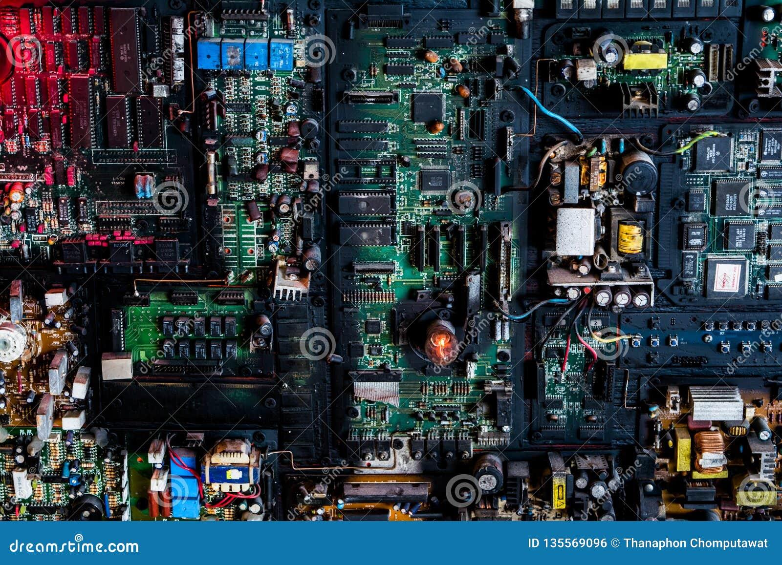 Sistema da placa de circuito elétrico