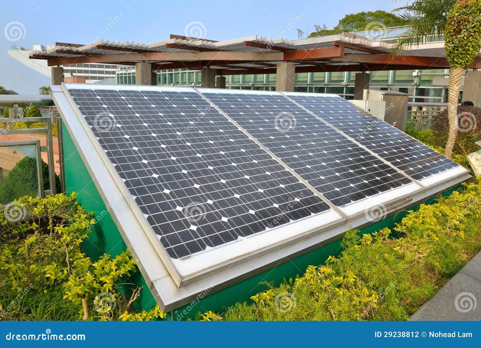 Download Sistema Das Energias Solares Foto de Stock - Imagem de energia, solar: 29238812