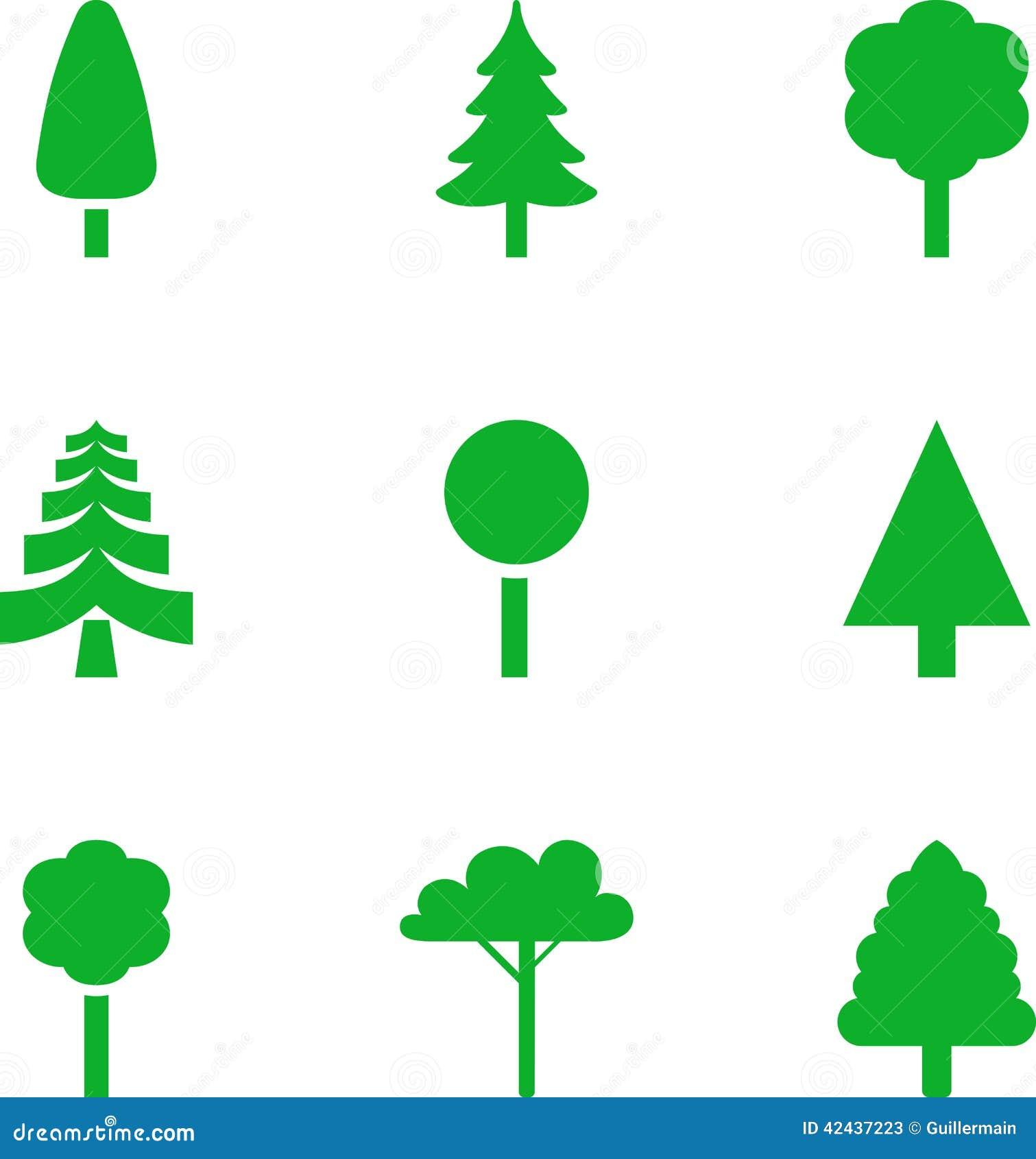 Sistema de árboles ilustrados
