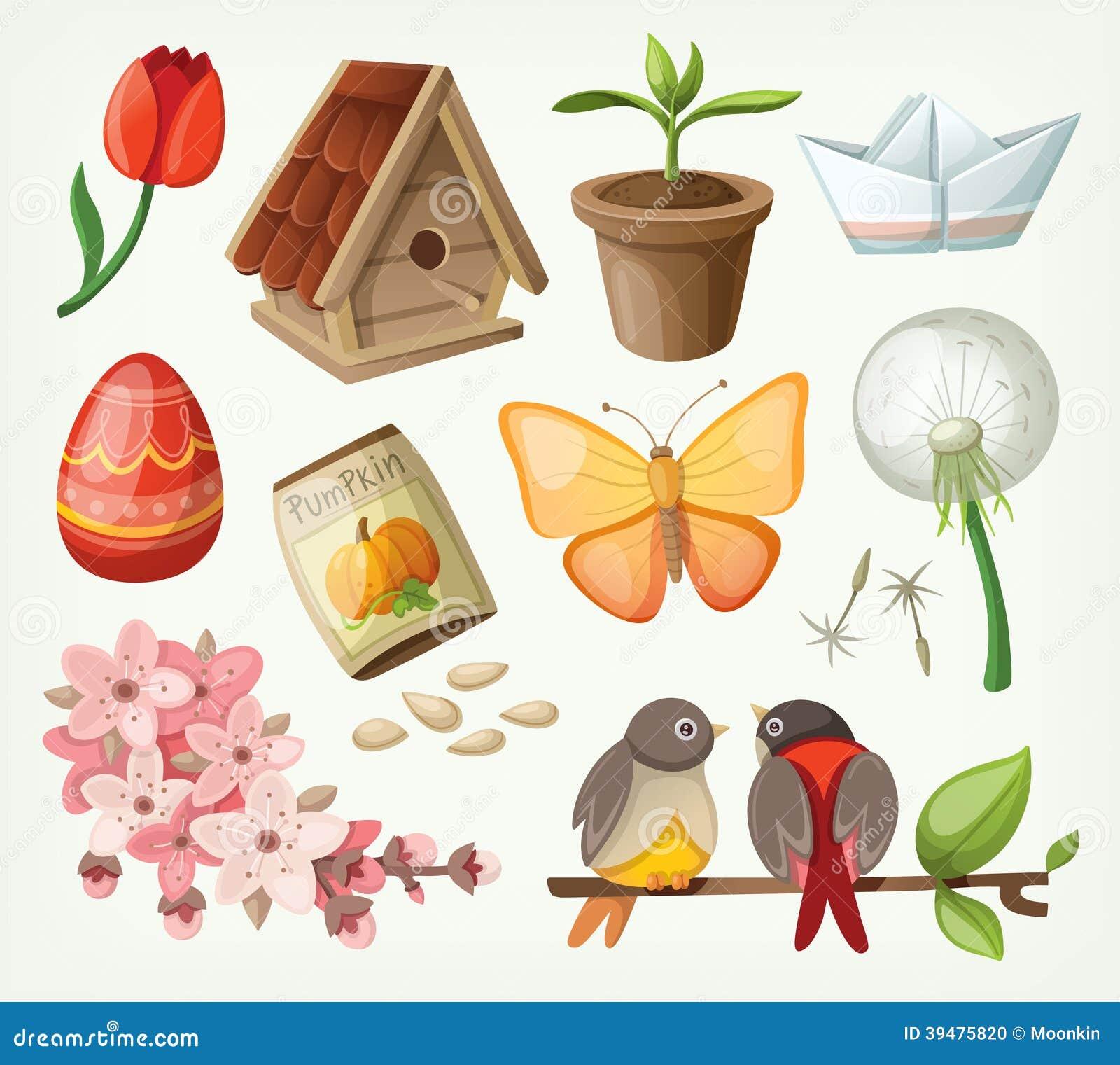 Sistema de artículos de la primavera