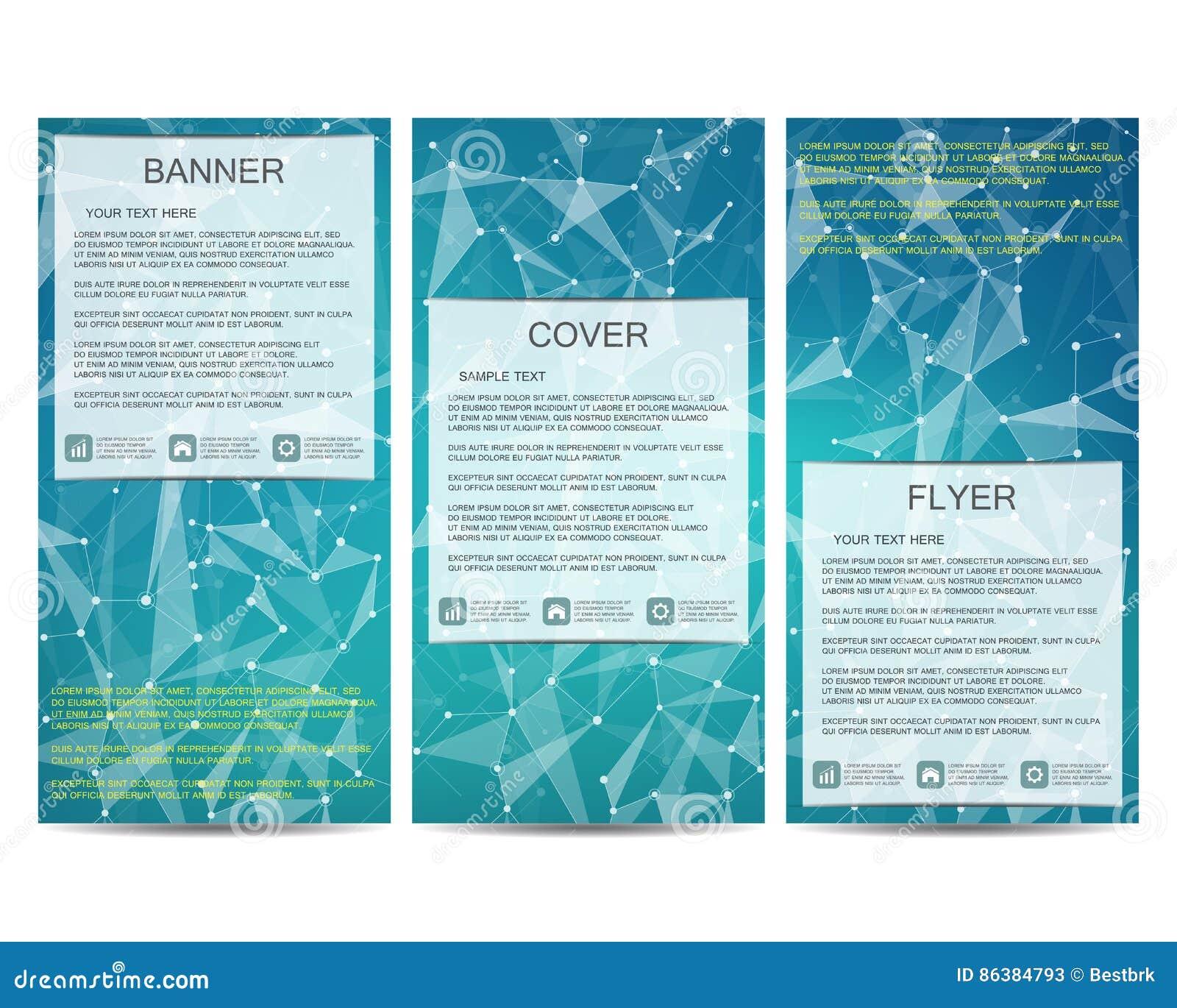 sistema de banderas cientficas modernas dna de la estructura de la molcula y neuronas abstraiga el