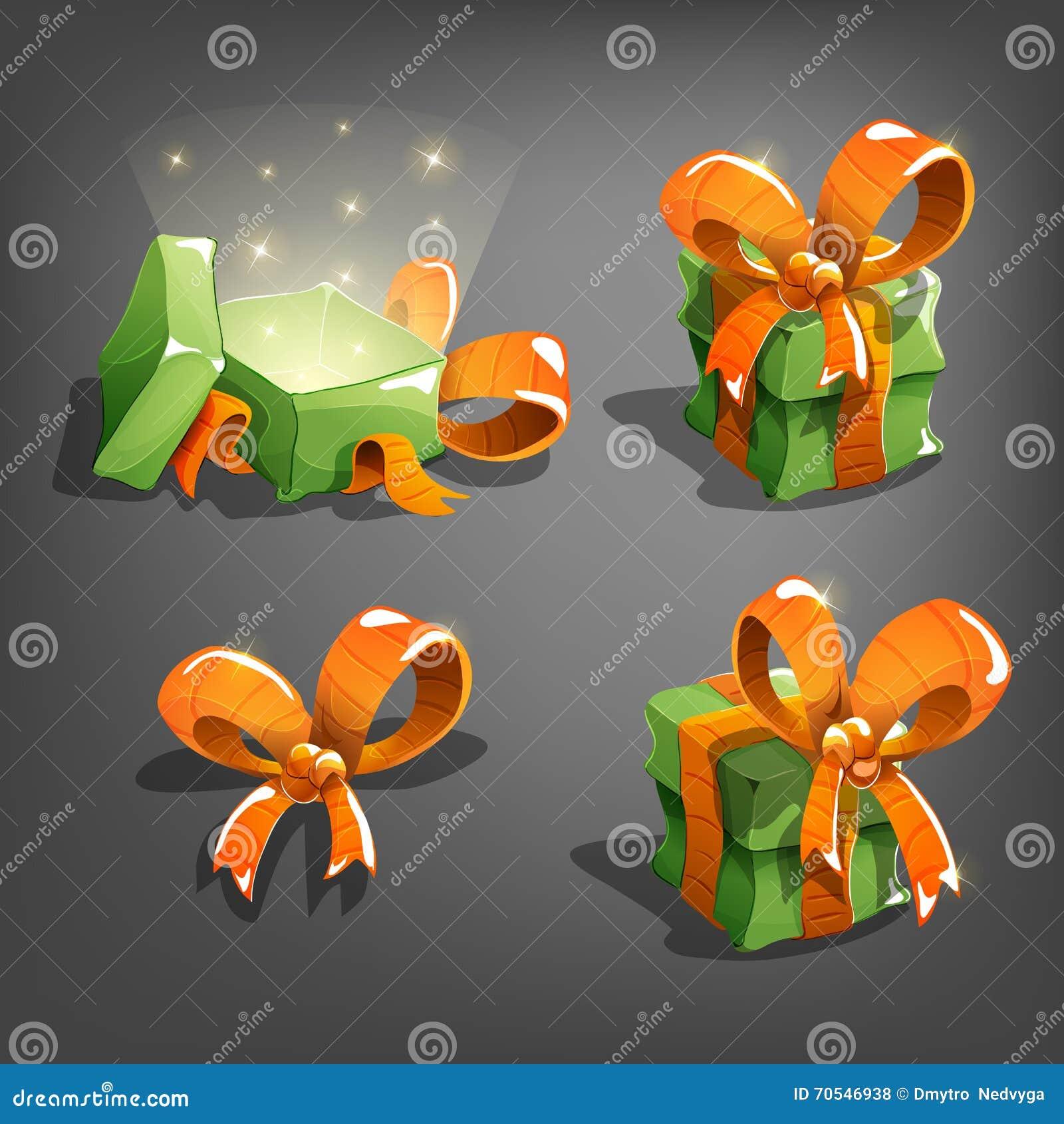 Sistema de cajas de regalo