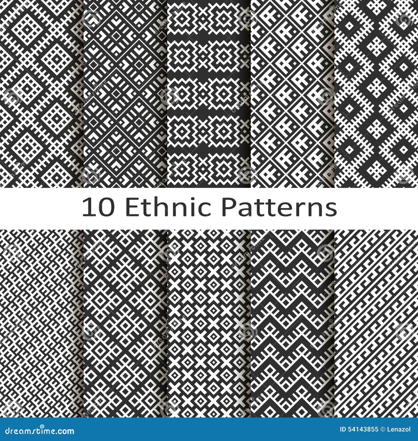 Sistema de diez modelos étnicos
